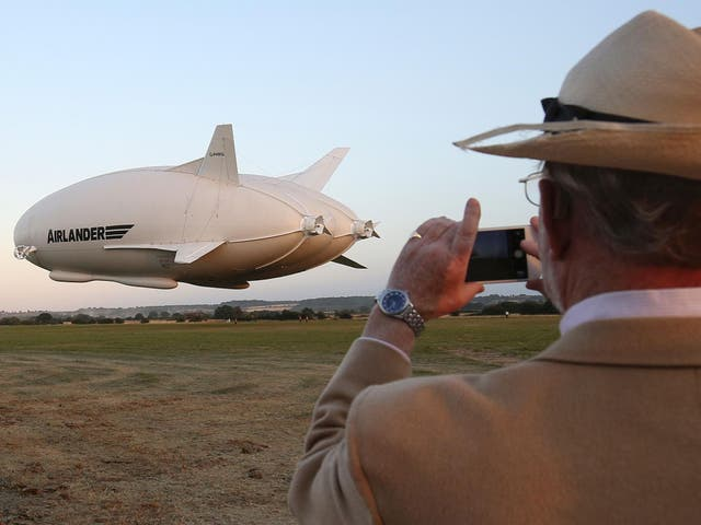Airlander 10 is the largest aircraft in the world