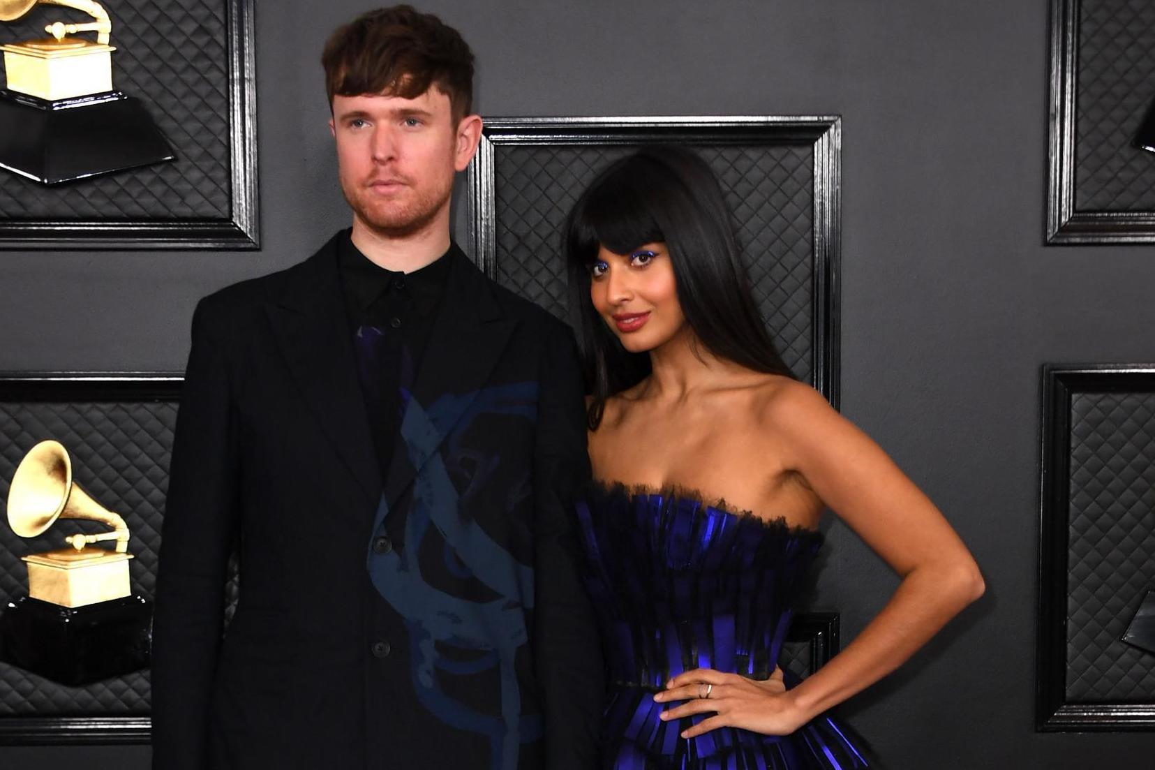 James Blake defends Jameela Jamil after she's accused of faking illnesses