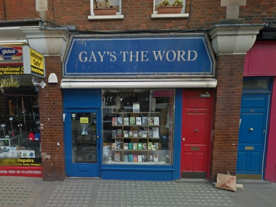 Men who burgled London's famous gay book shop caught after stopping to drink their prosecco