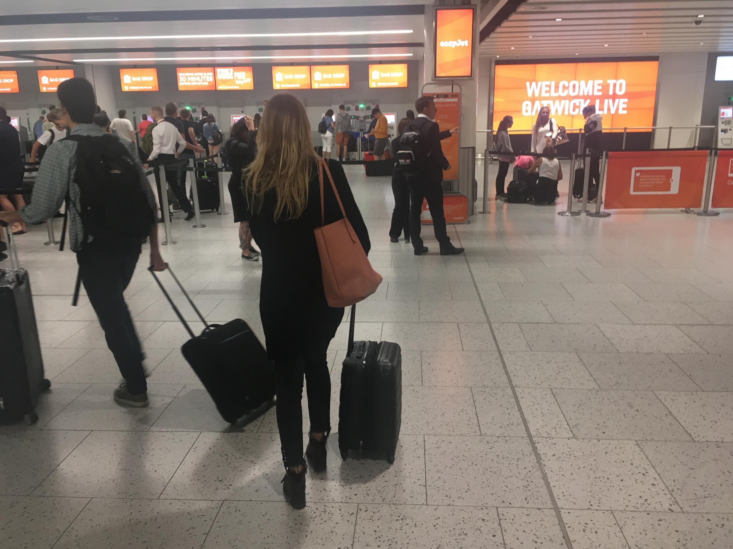 Storm Dennis triggers hundreds of flight cancellations causing half-term travel chaos