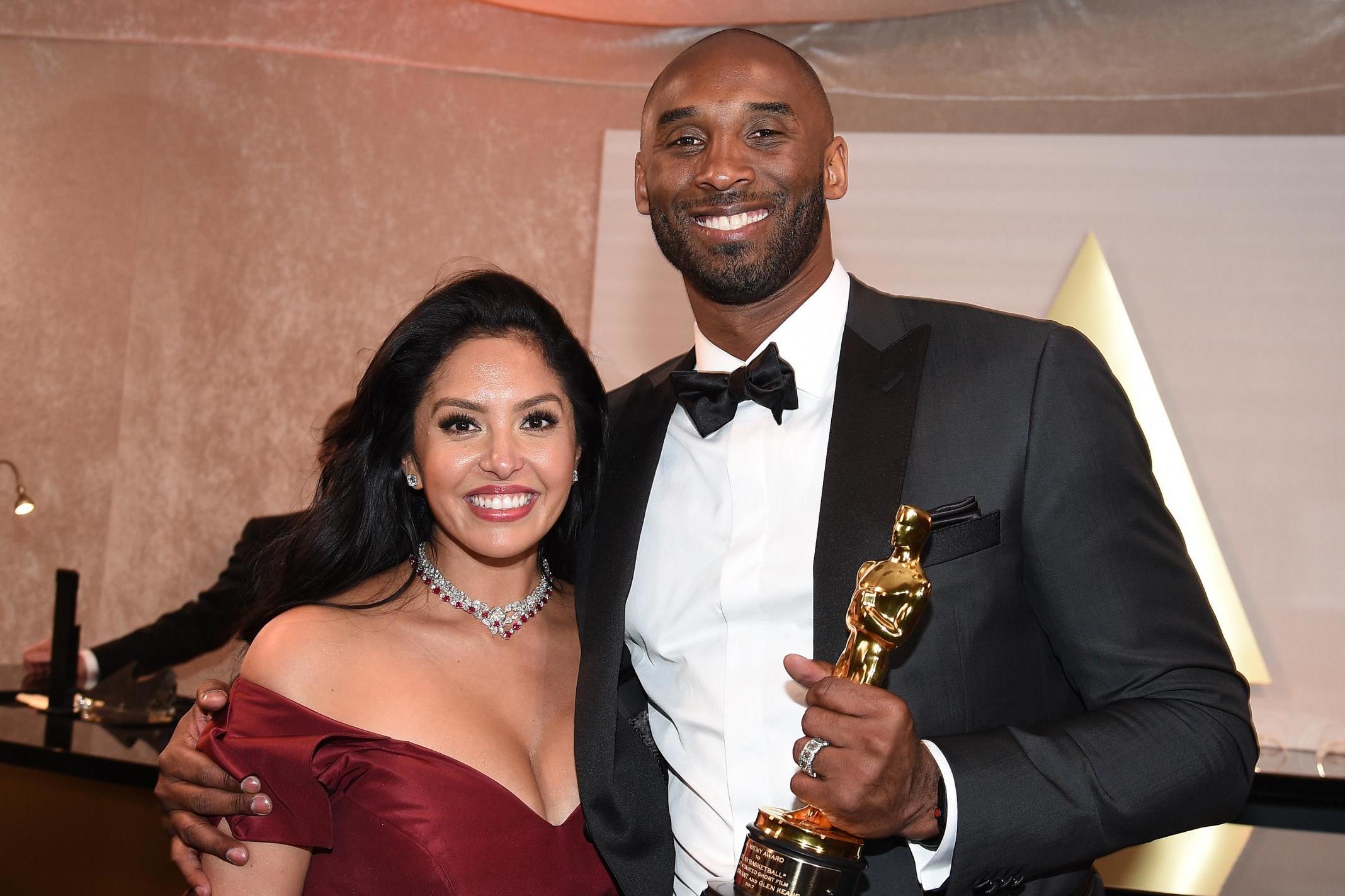 Vanessa Bryant shares heartfelt message to her 'forever Valentine' Kobe
