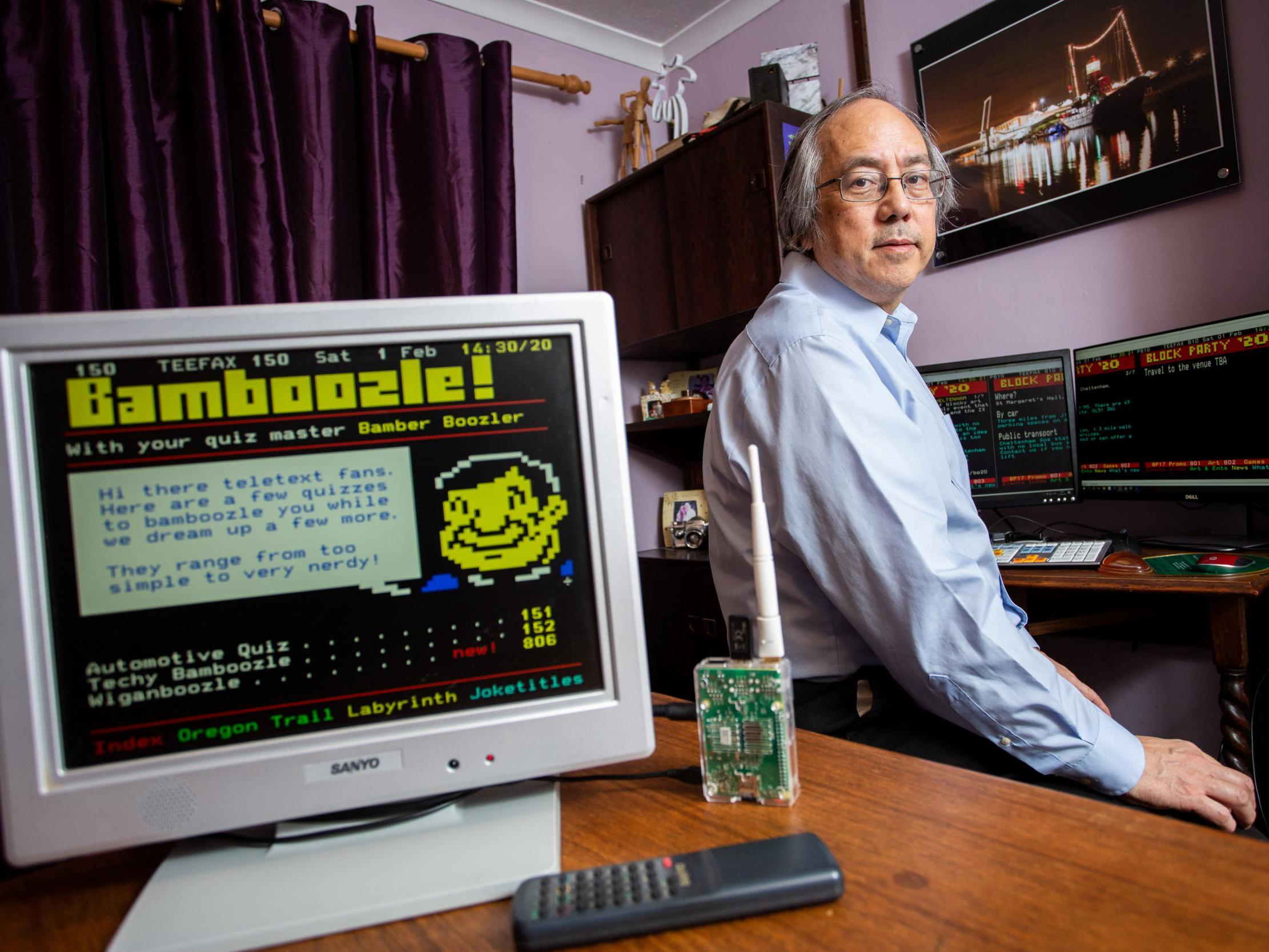 Man who misses Ceefax spends years creating his own version