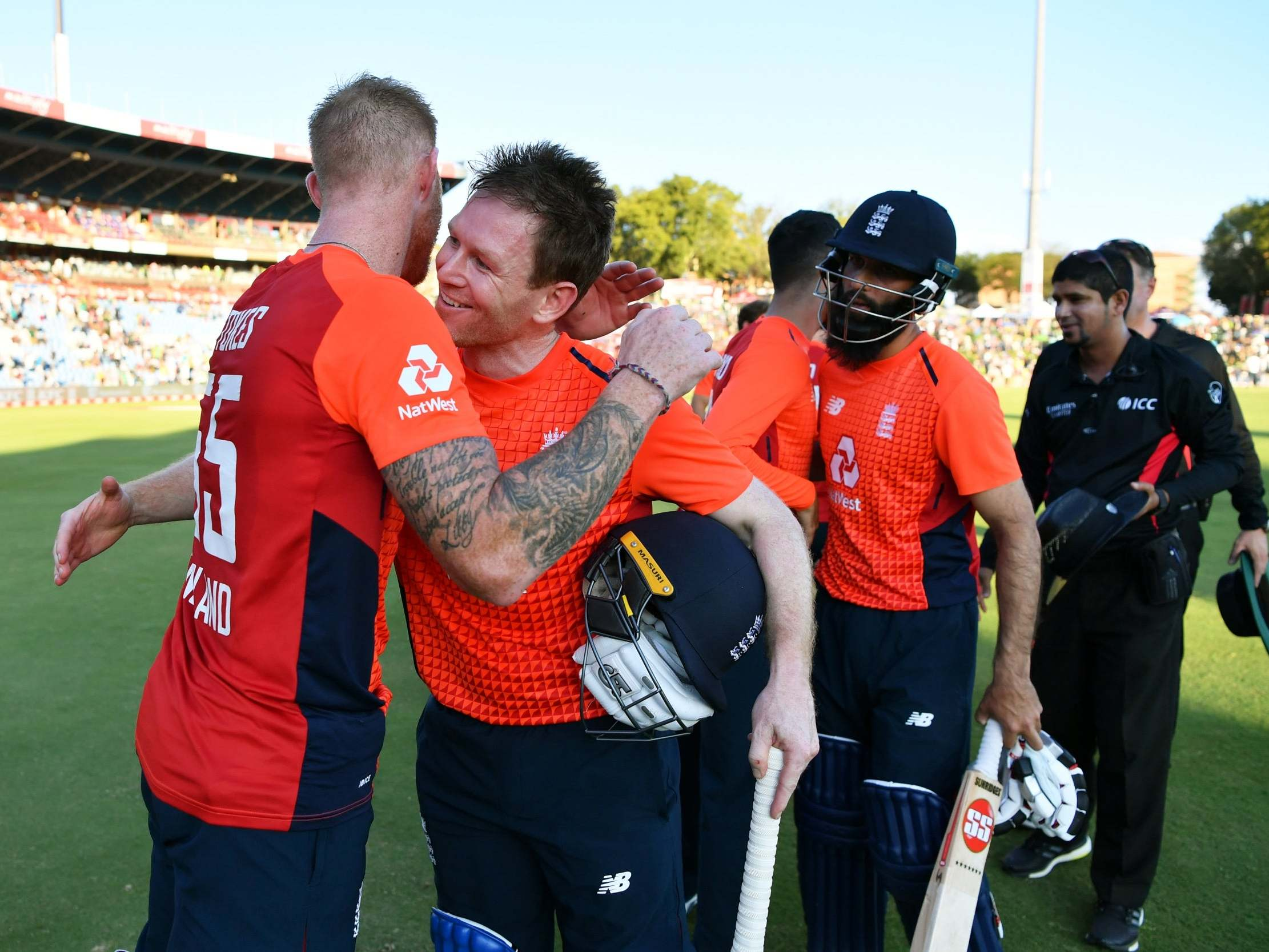 Morgan and Buttler fire England to series victory in final T20