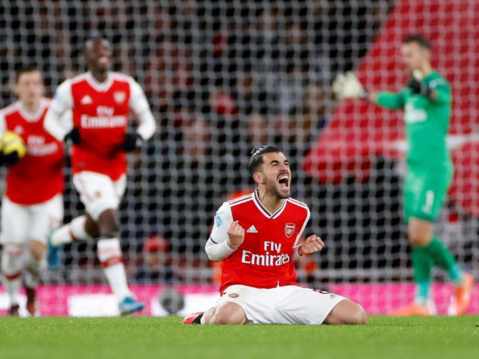 Dani Ceballos may not be Arsenal's own but he may have secured his own future