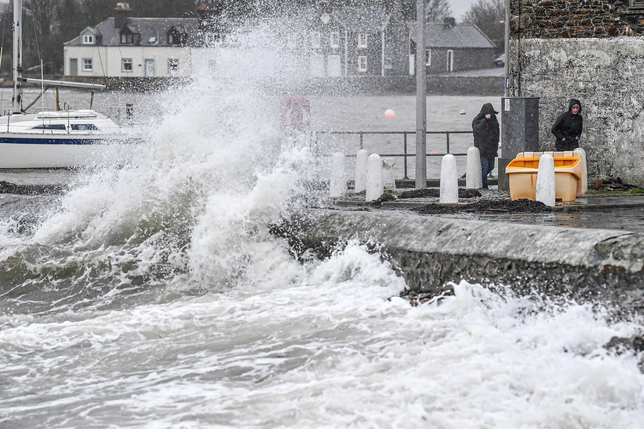 Travel chaos on trains, boats and planes continues amid Storm Dennis aftermath