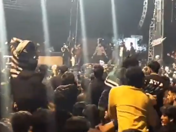 Injured women 'groped and assaulted' at music festival after stage collapses