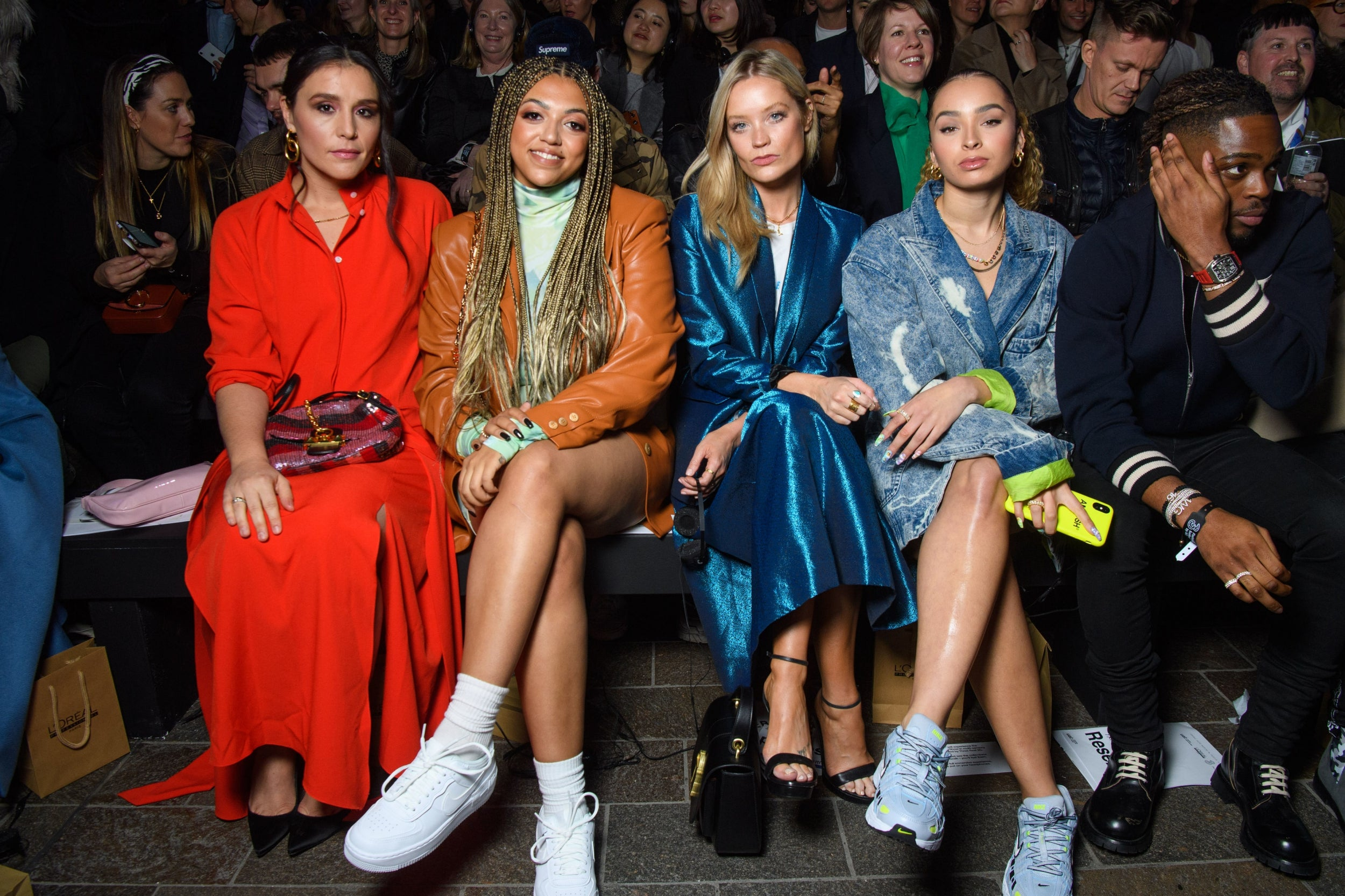 Jessie Ware, Mahalia, Laura Whitmore and Ella Eyre