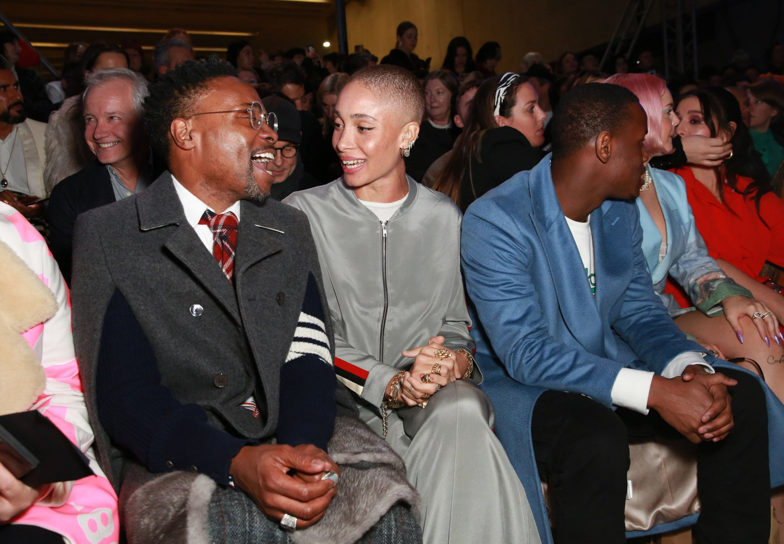 Billy Porter, Adwoa Aboah and Michael Ward