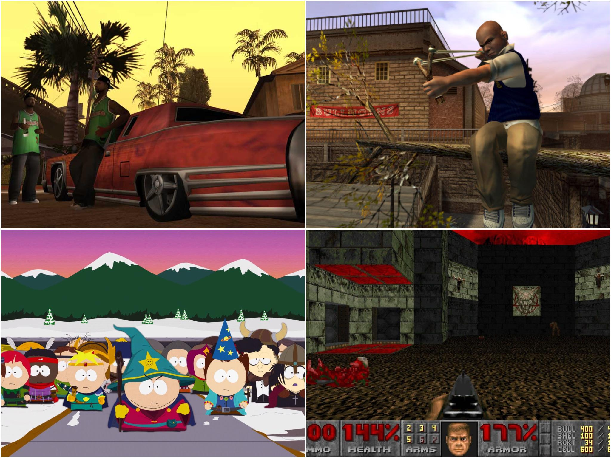 20 most controversial video games
