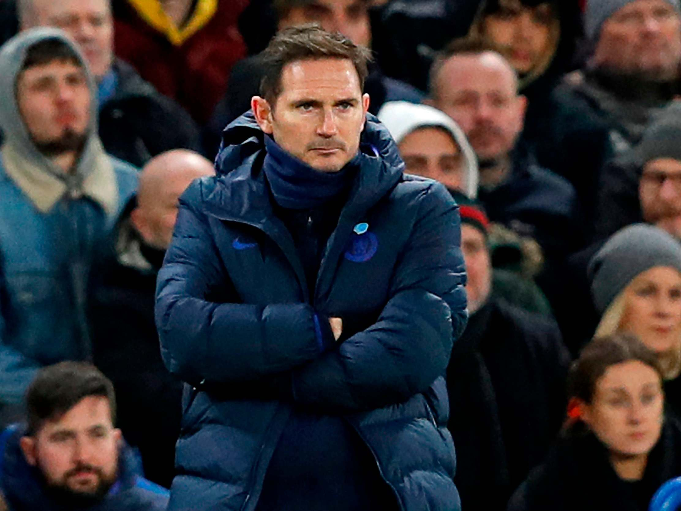 Frank Lampard says Harry Maguire should have seen red as Chelsea rage over loss