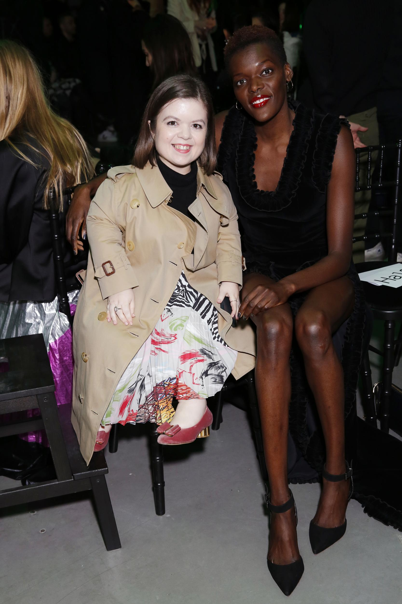 Sinéad Burke and Sheila Atim