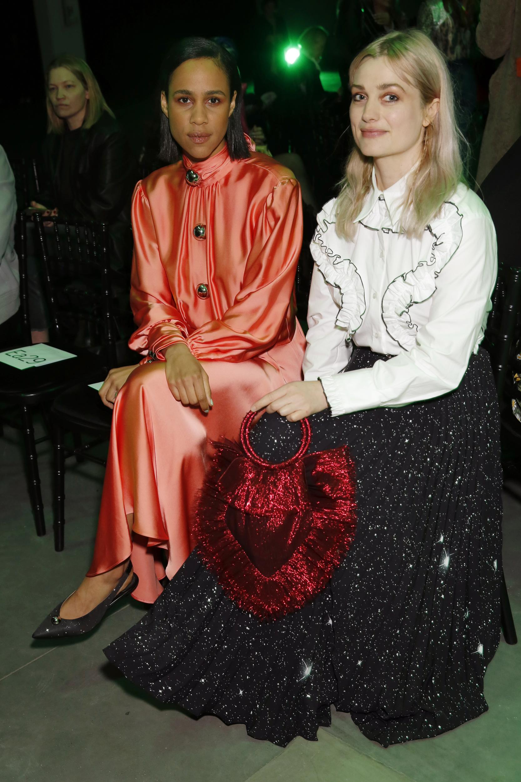 Zawe Ashton and Alison Sudol