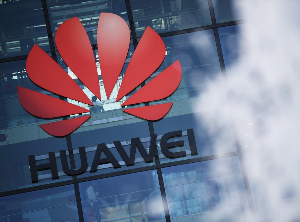 Huawei's production line partly relies on computer chips based on US technology