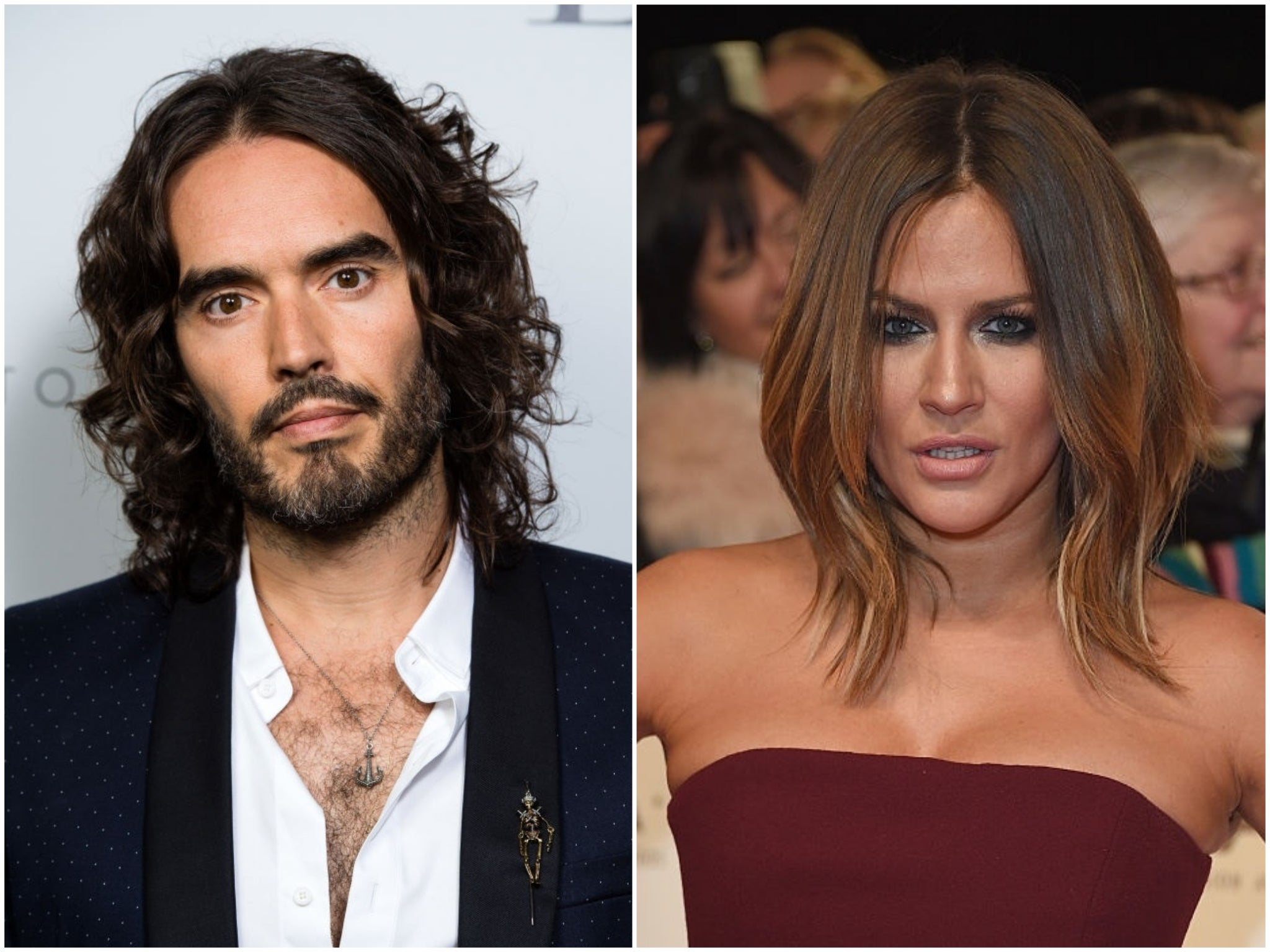 Russell Brand compares 'lovely' Caroline Flack to Amy Winehouse in moving essay