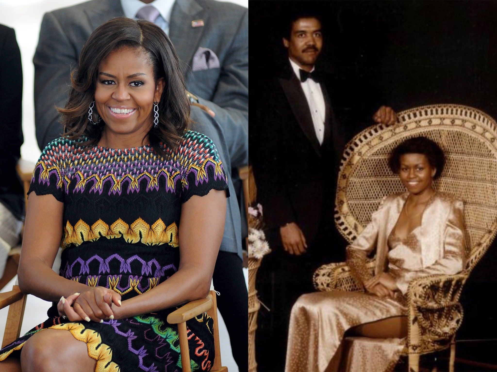 Michelle Obama shares throwback picture from prom night