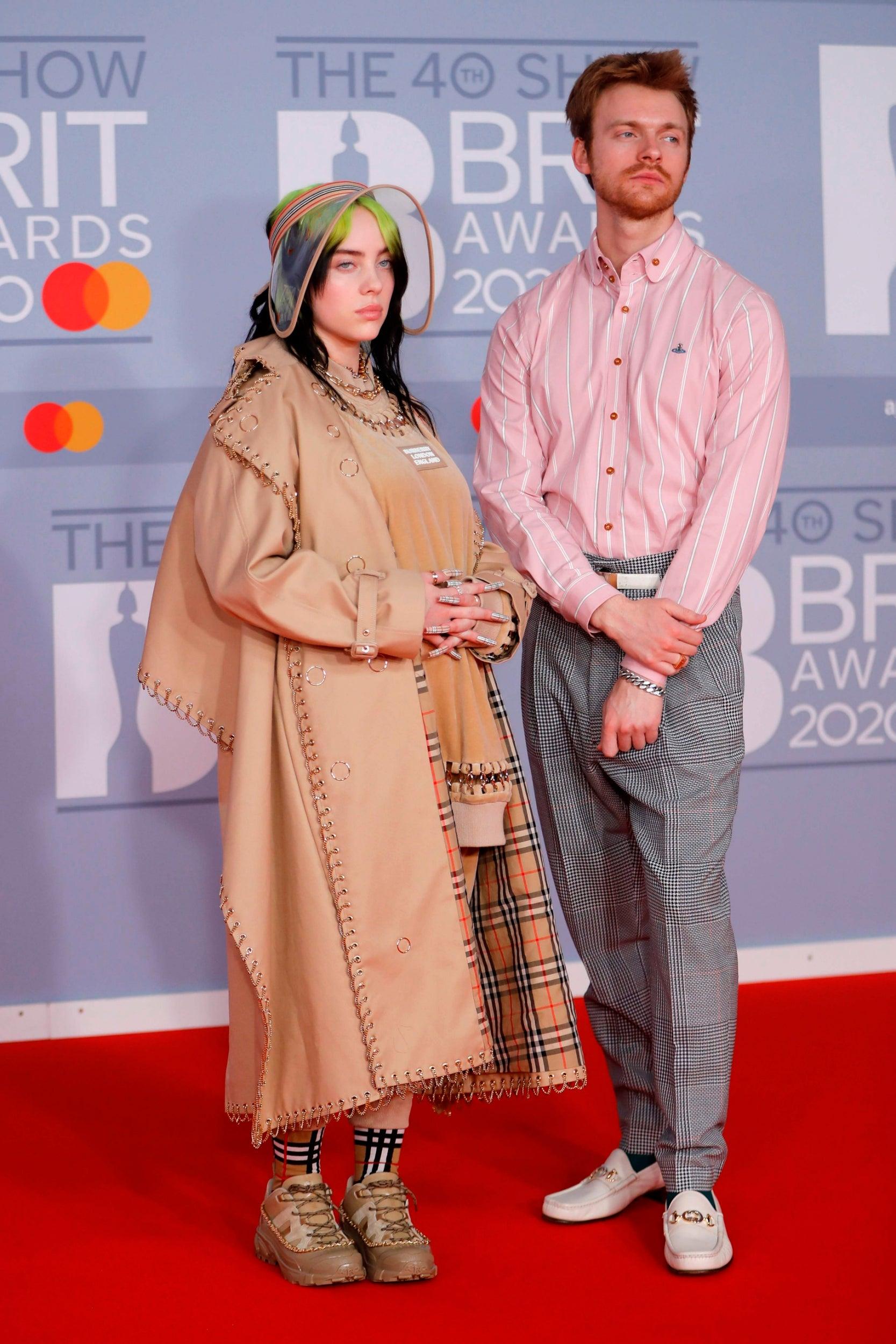 Billie Eilish and Finneas O'Connell
