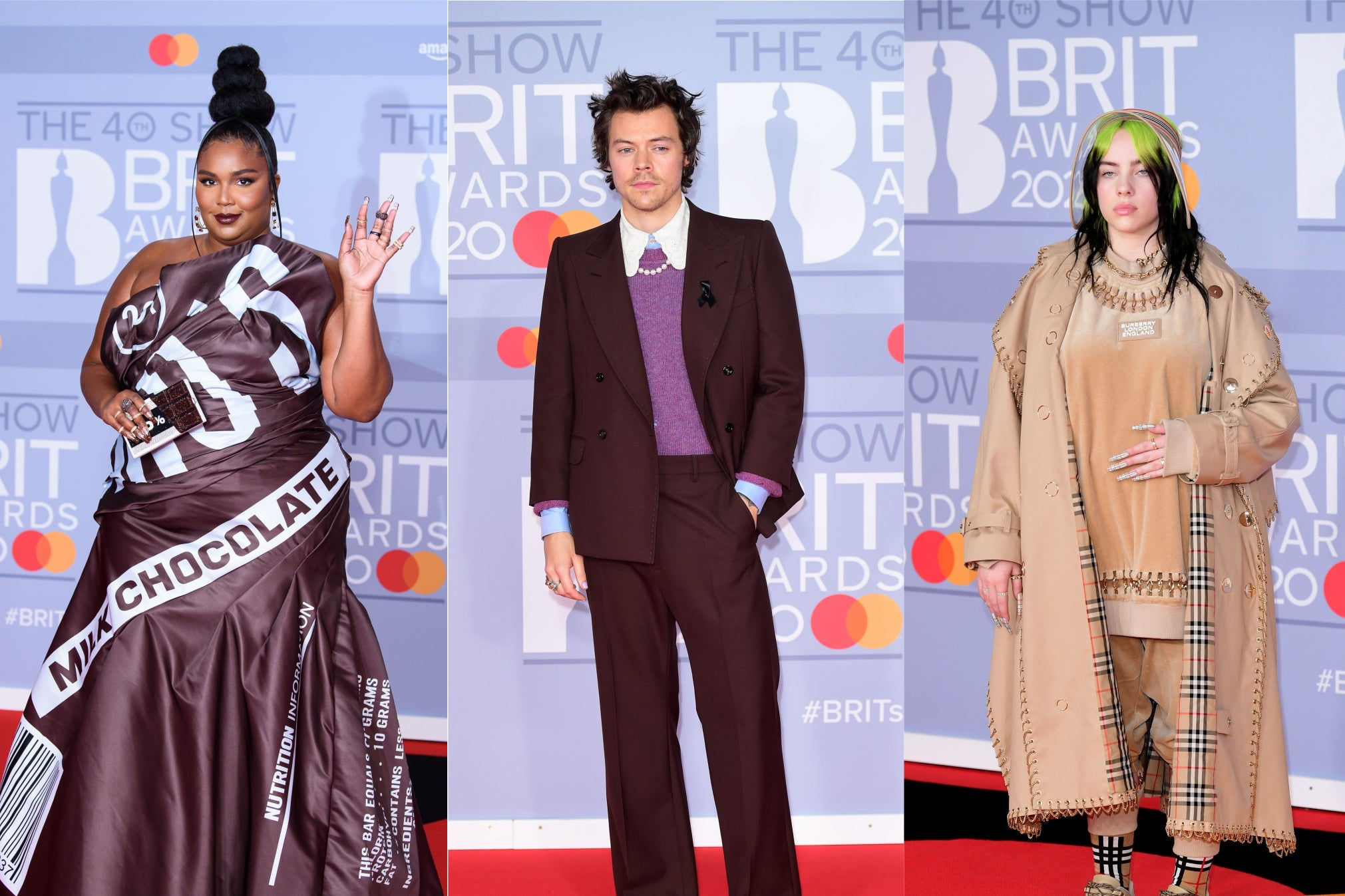 Lizzo, Billie Eilish and Harry Styles among best-dressed stars on red carpet