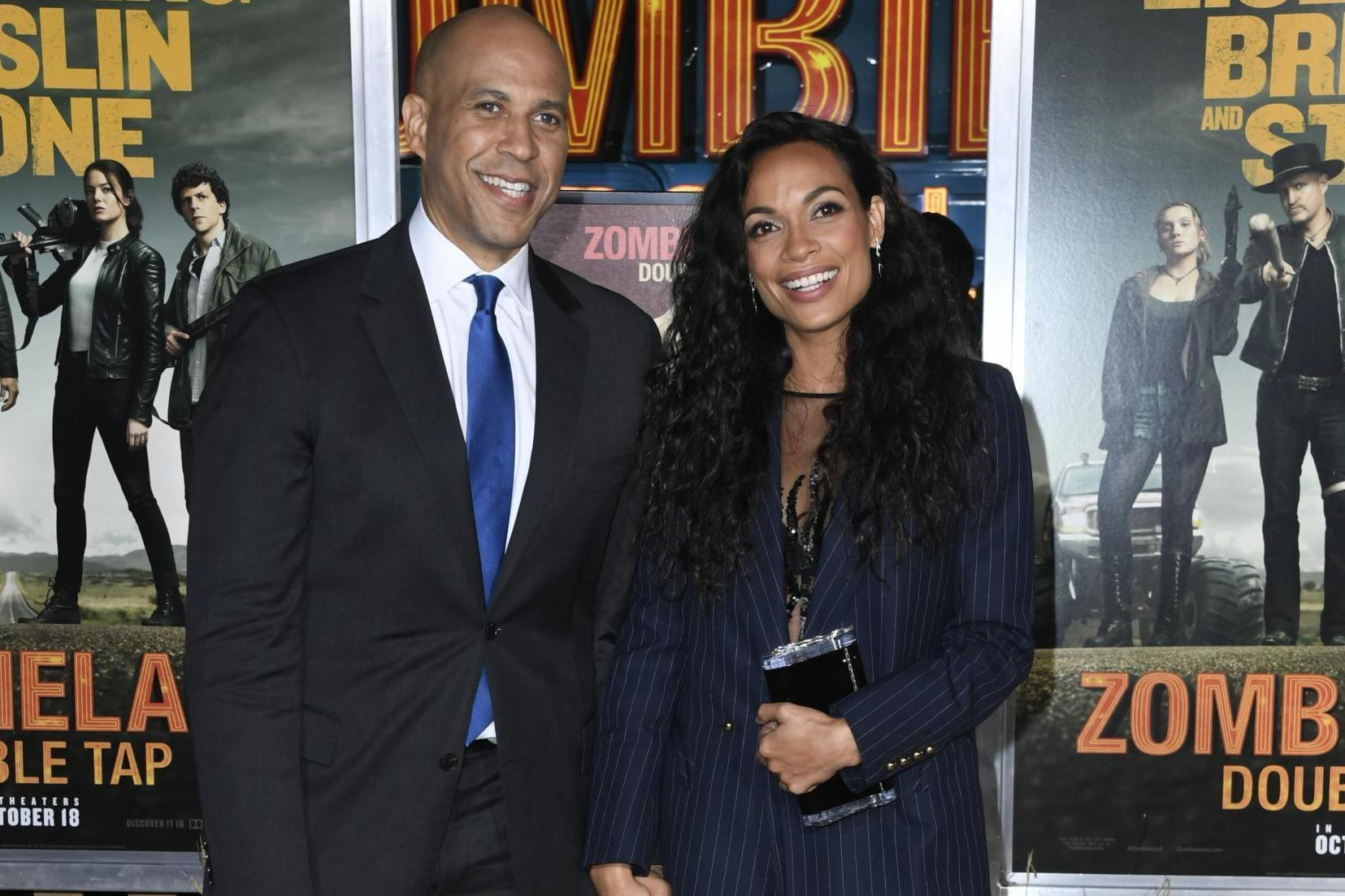 Rosario Dawson comes out while discussing sexuality and relationship with Cory Booker - independent