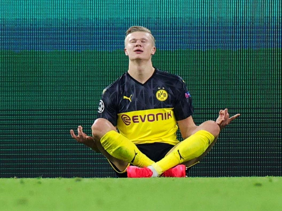 Dortmund Vs Psg Result Erling Haaland S Brute Force Gains Upper Hand In Champions League Tie The Independent The Independent