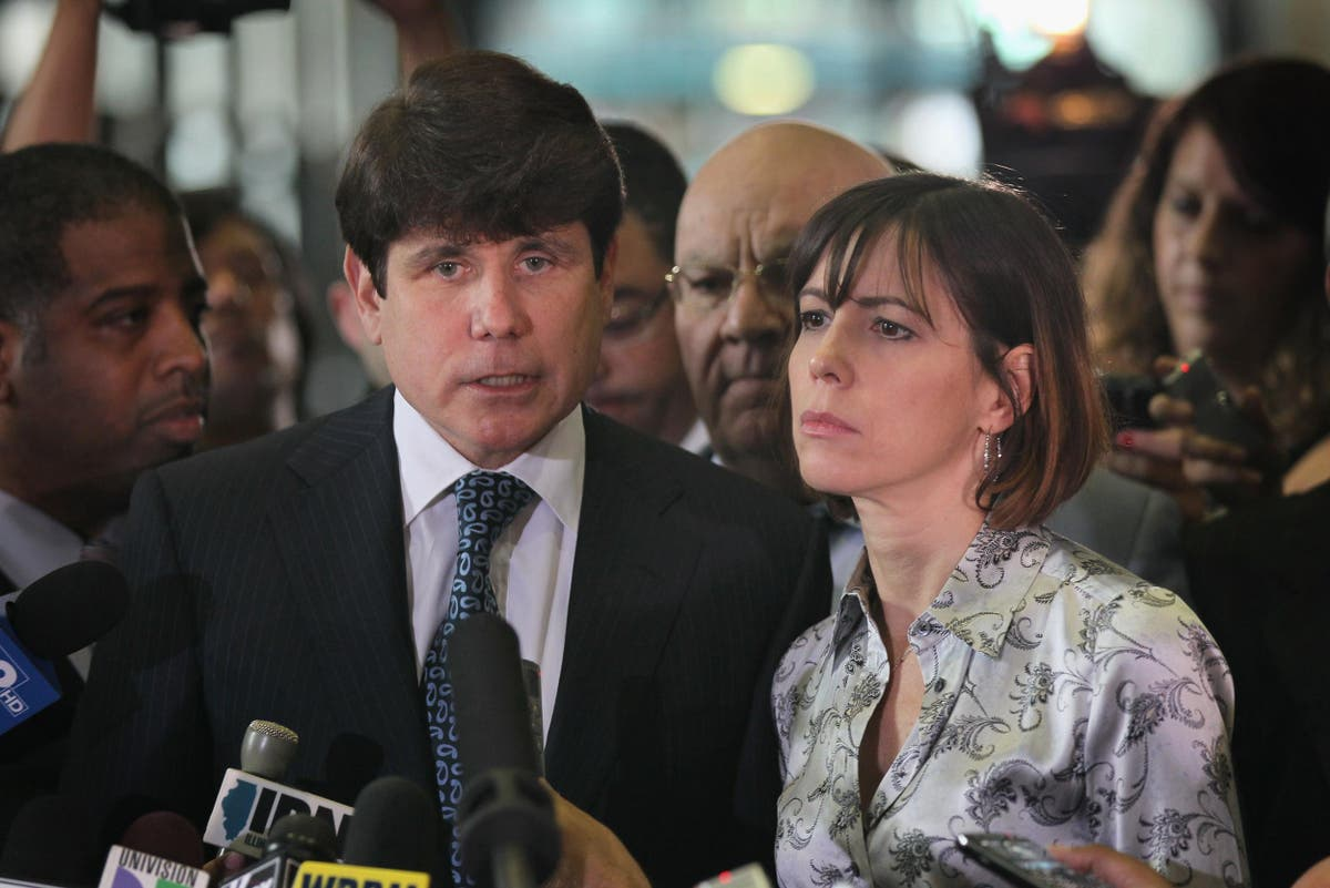 Rod Blagojevich - haşin, Karısı Patricia Mell