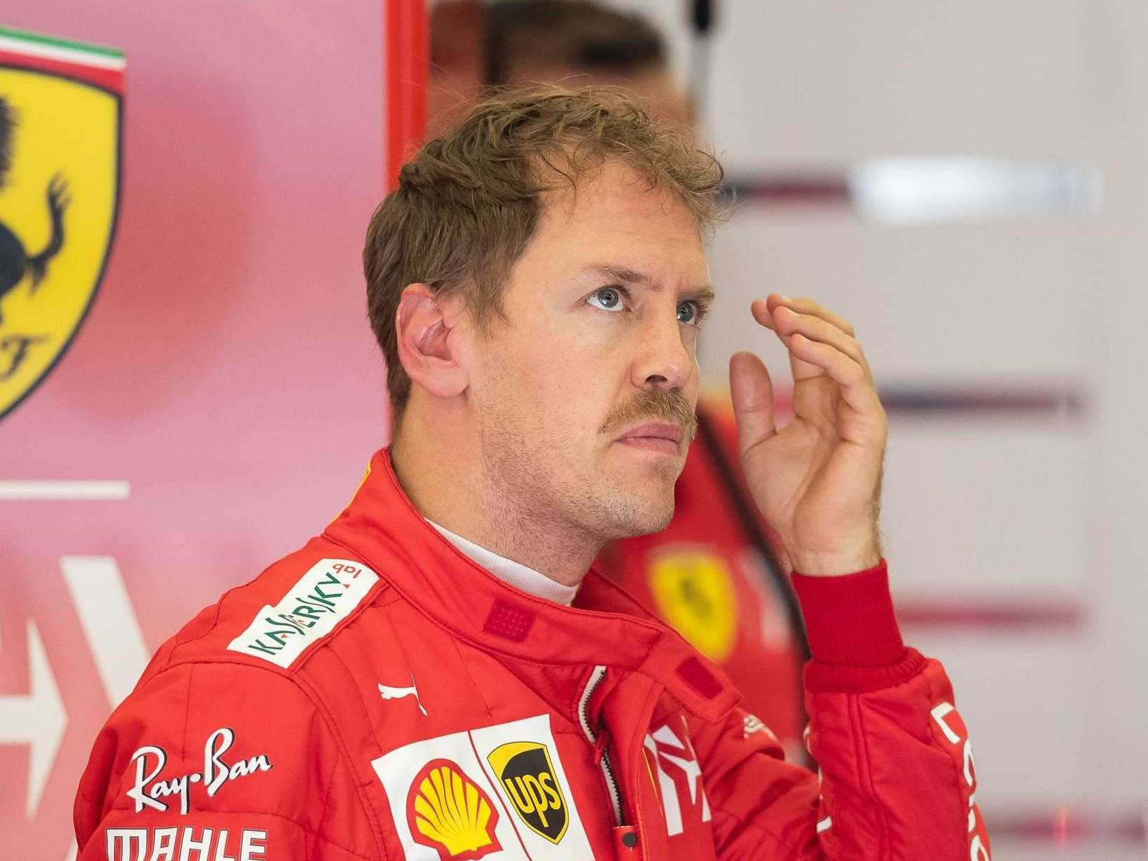 Sebastian Vettel sits out opening day of F1 testing
