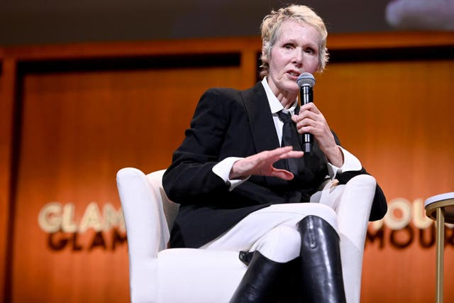 E Jean Carroll at the 2019 Glamour Women of the Year summit on 10 November 2019 in New York City.