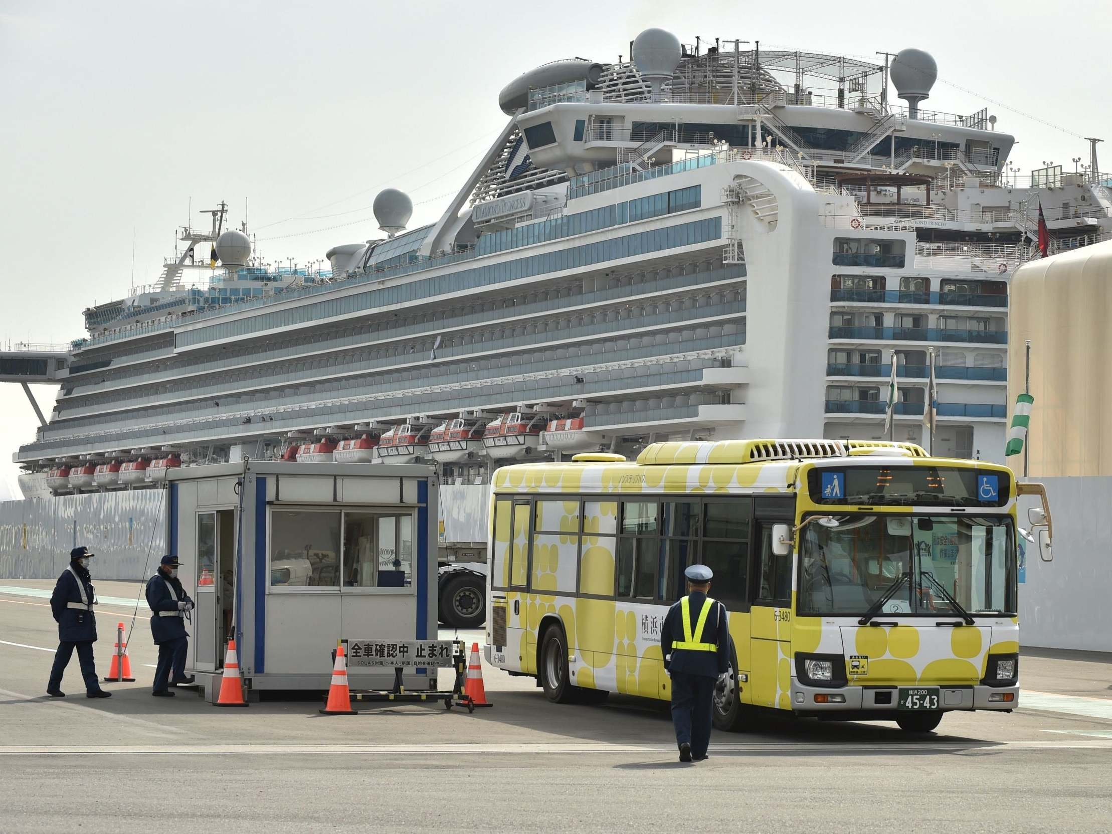 Coronavirus: Two cruise ship passengers die in Japan after contracting virus