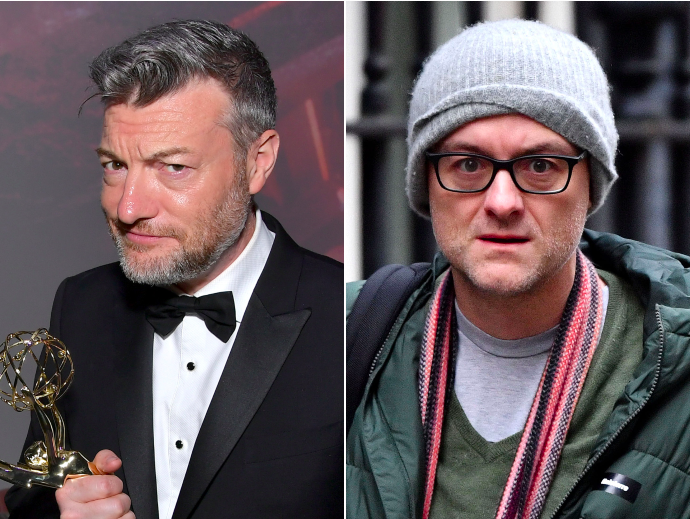 Charlie Brooker calls Dominic Cummings an 'arrogant thicko' and a 'clown'