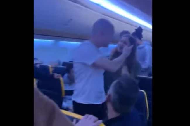 'I'll slap you around,' shouts passenger on nightmare Ryanair flight