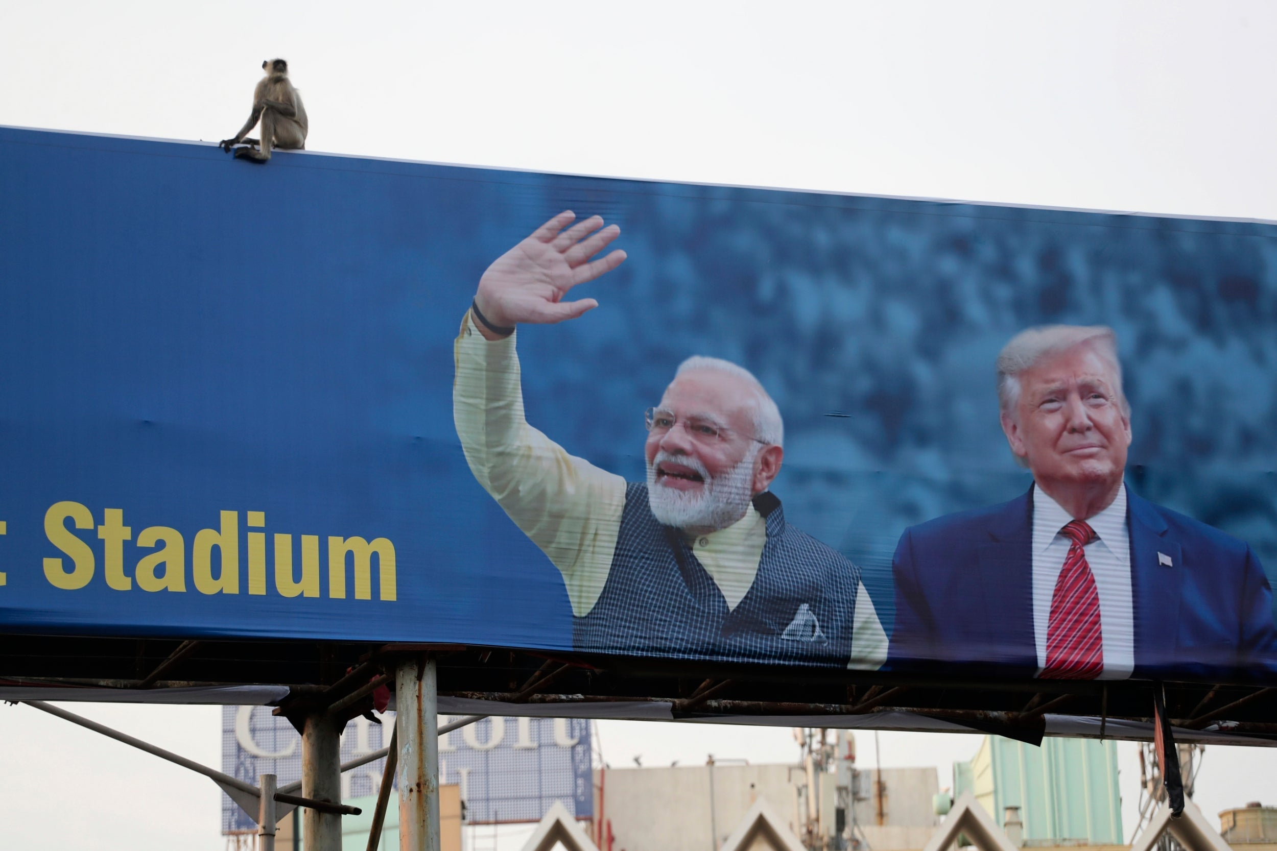 Trump heads to India eyeing trade deal as re-election trophy - independent