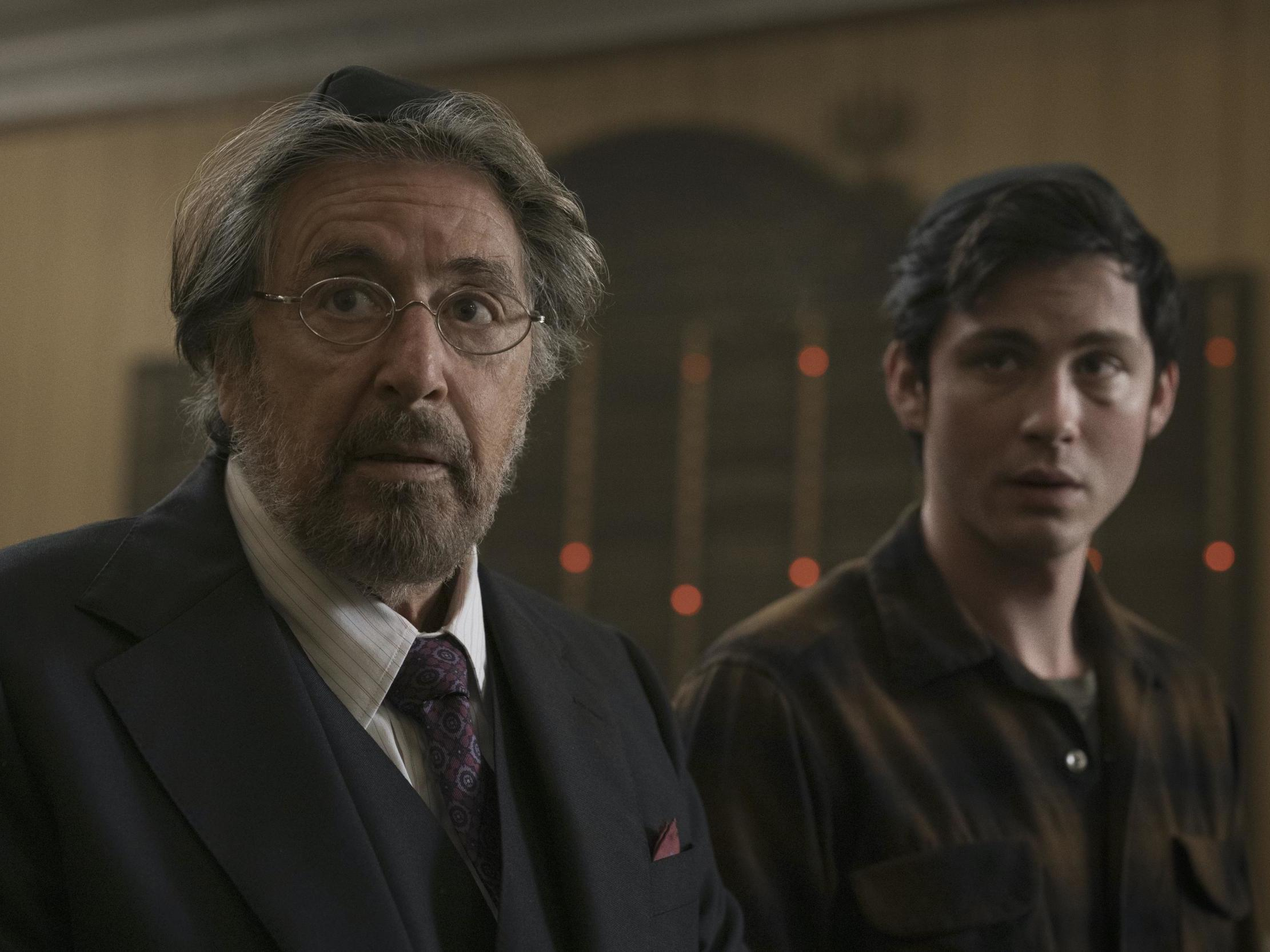 The abrupt Nazi-killing in new Al Pacino series Hunters is pure Quentin Tarantino – review