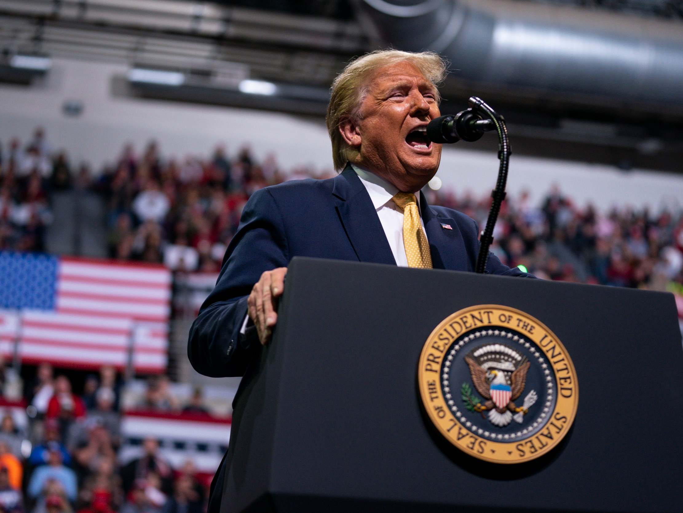 Trump rally boos Greta Thunberg as he complains he should win Time Person of the Year 'every single year'