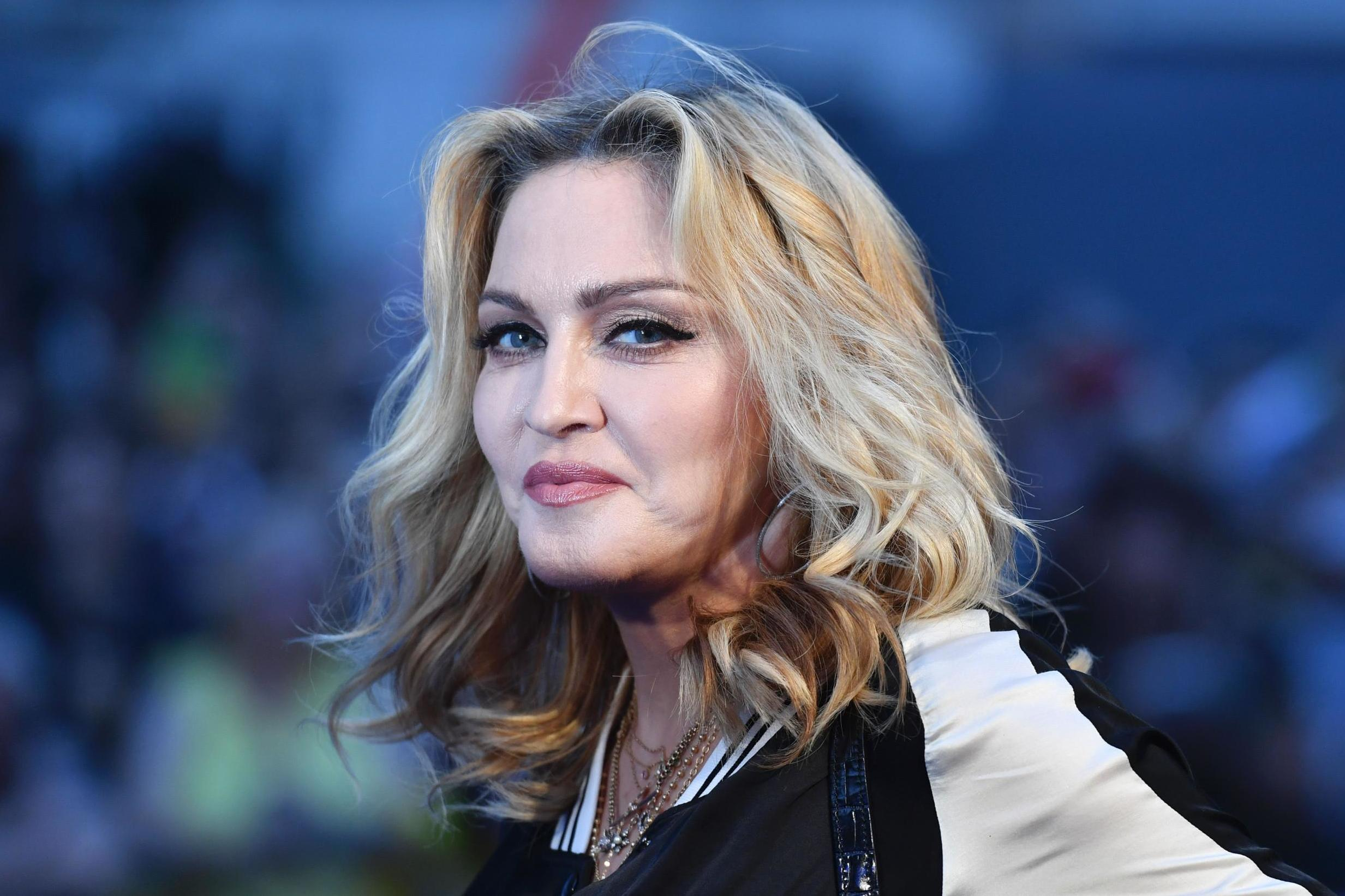 Madonna makes risqué Game of Thrones joke during gig with star Gwendoline Christie
