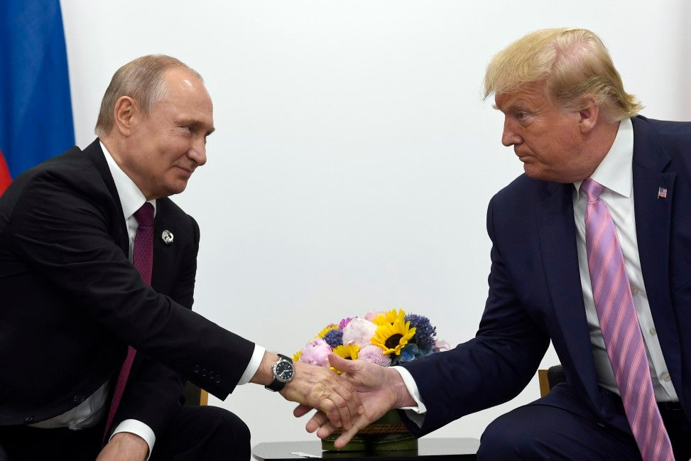 Putin thinks he can play Trump 'like a fiddle', former aide John Bolton says in new interview