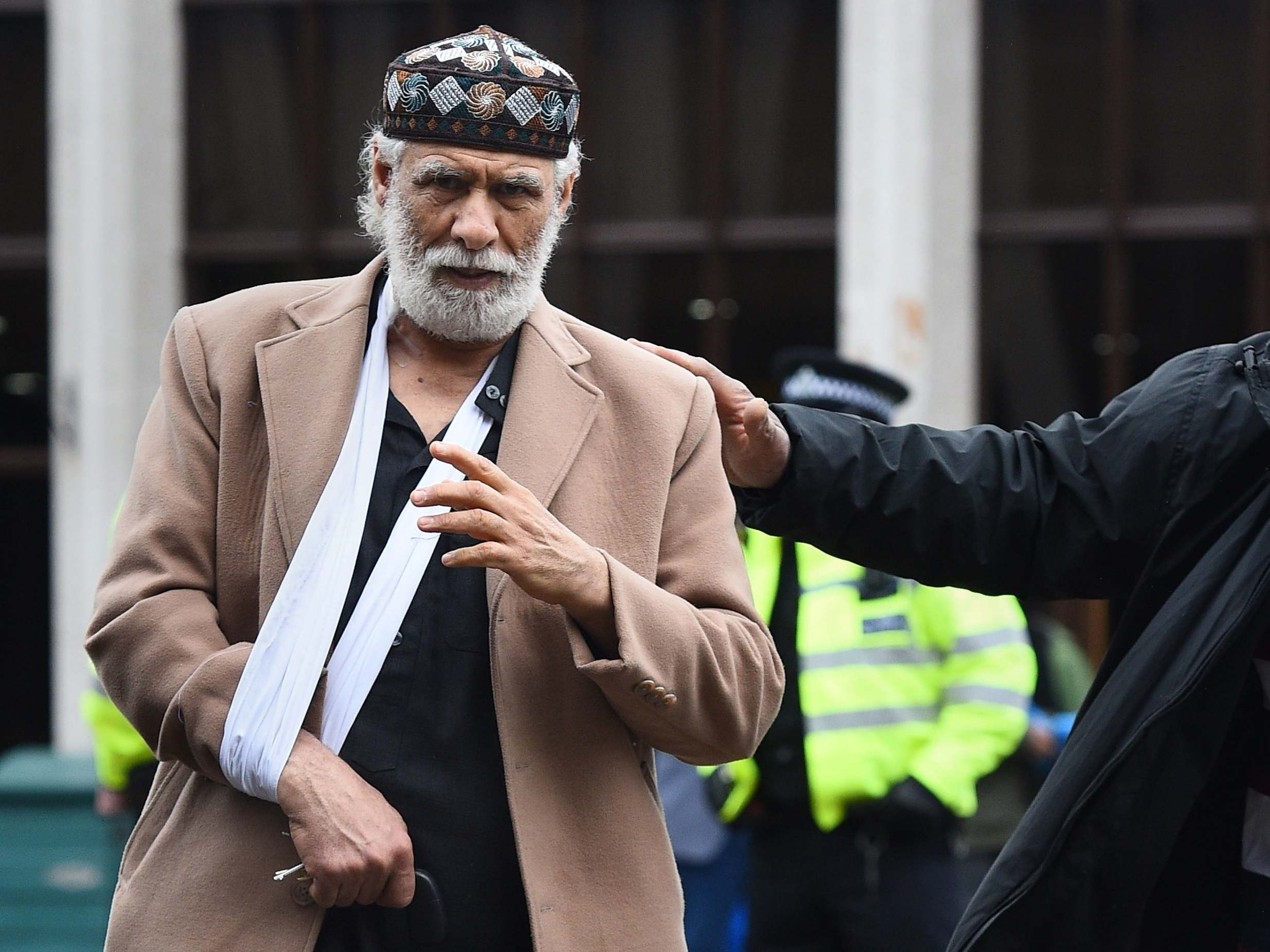 Muslim prayer leader says he forgives attacker who stabbed him in neck