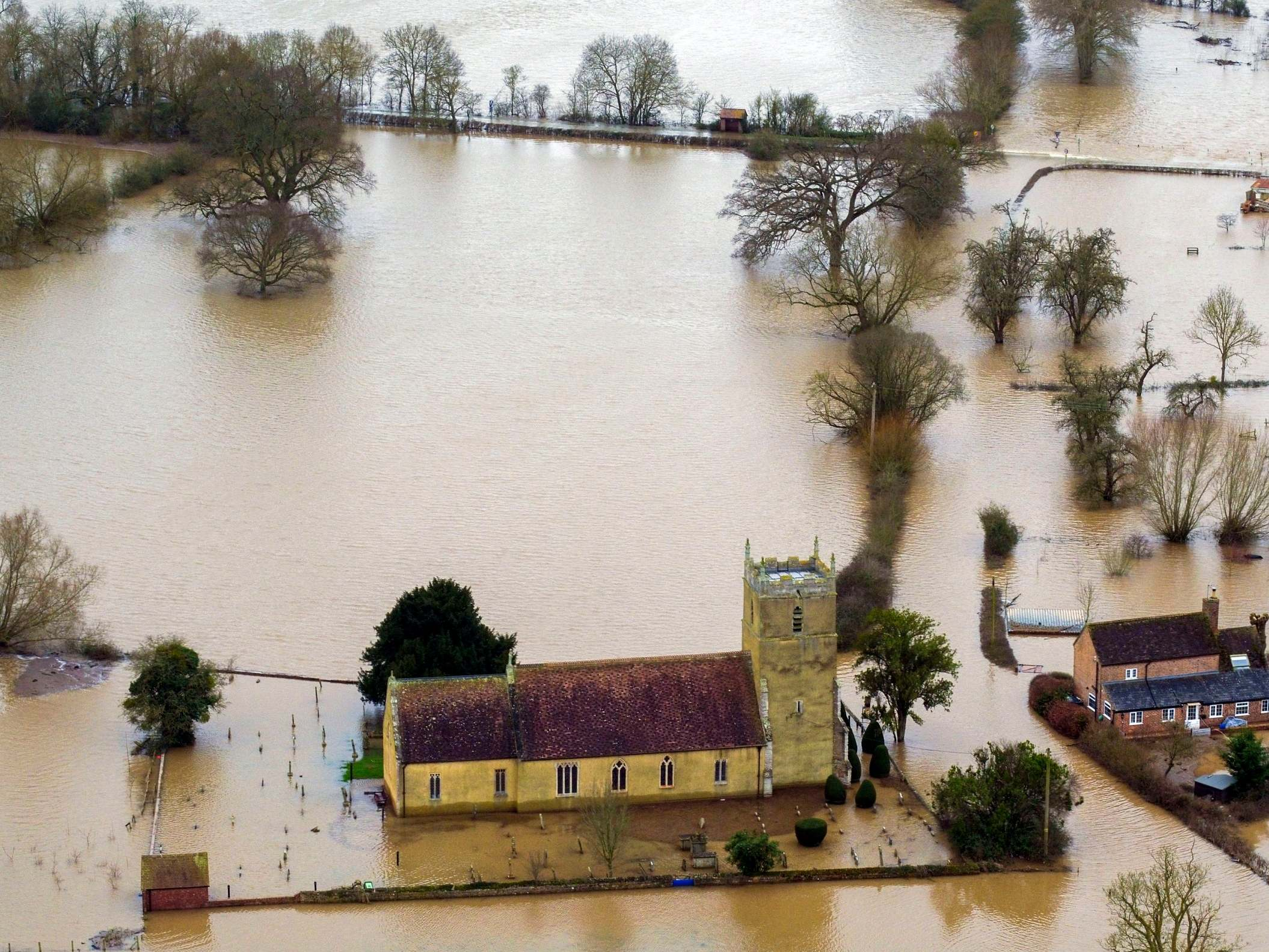 Flood warnings issued as deluge of rain forecast across swathes of UK