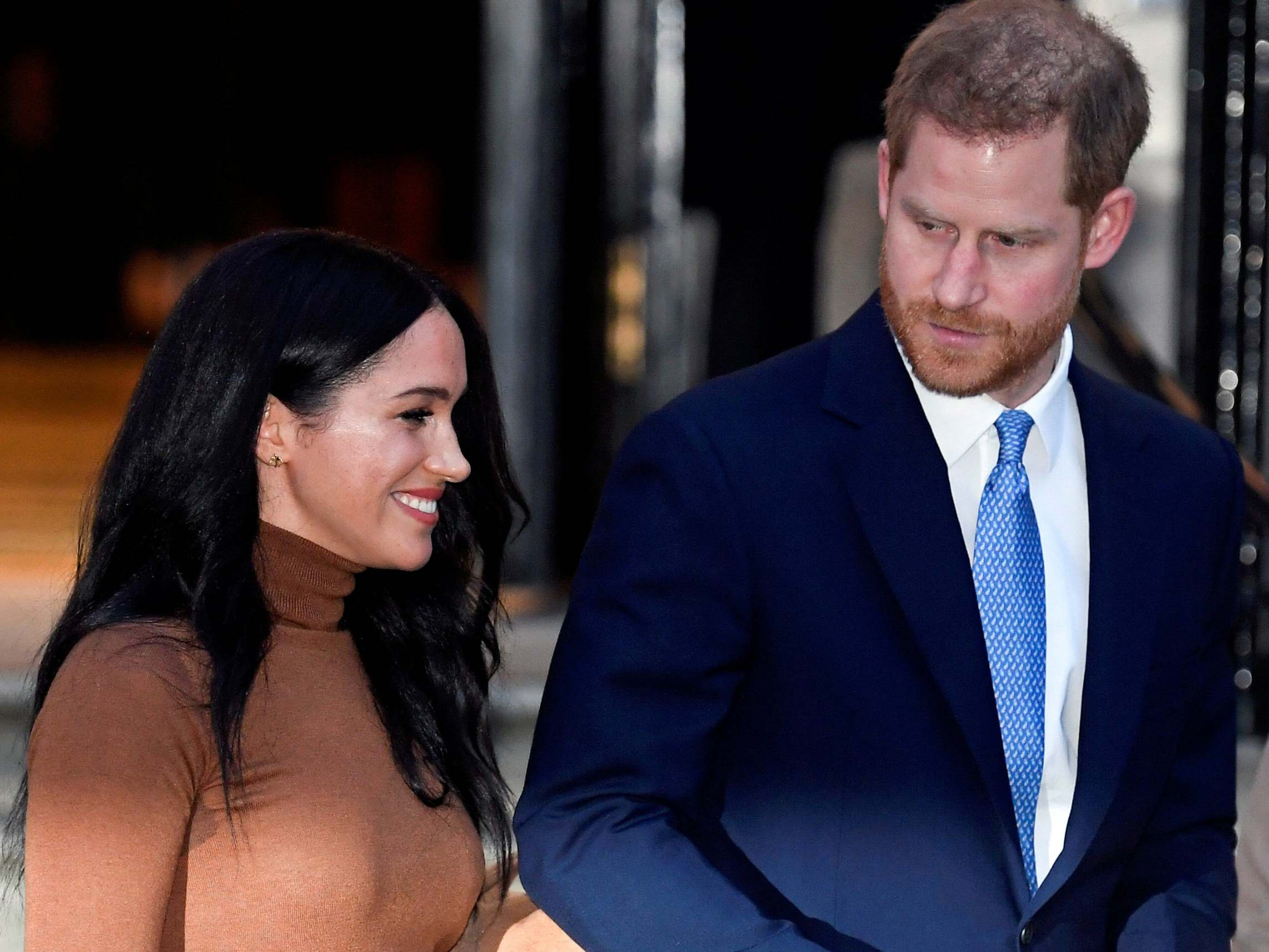 Prince Harry and Meghan Markle to drop 'royal' from their branding