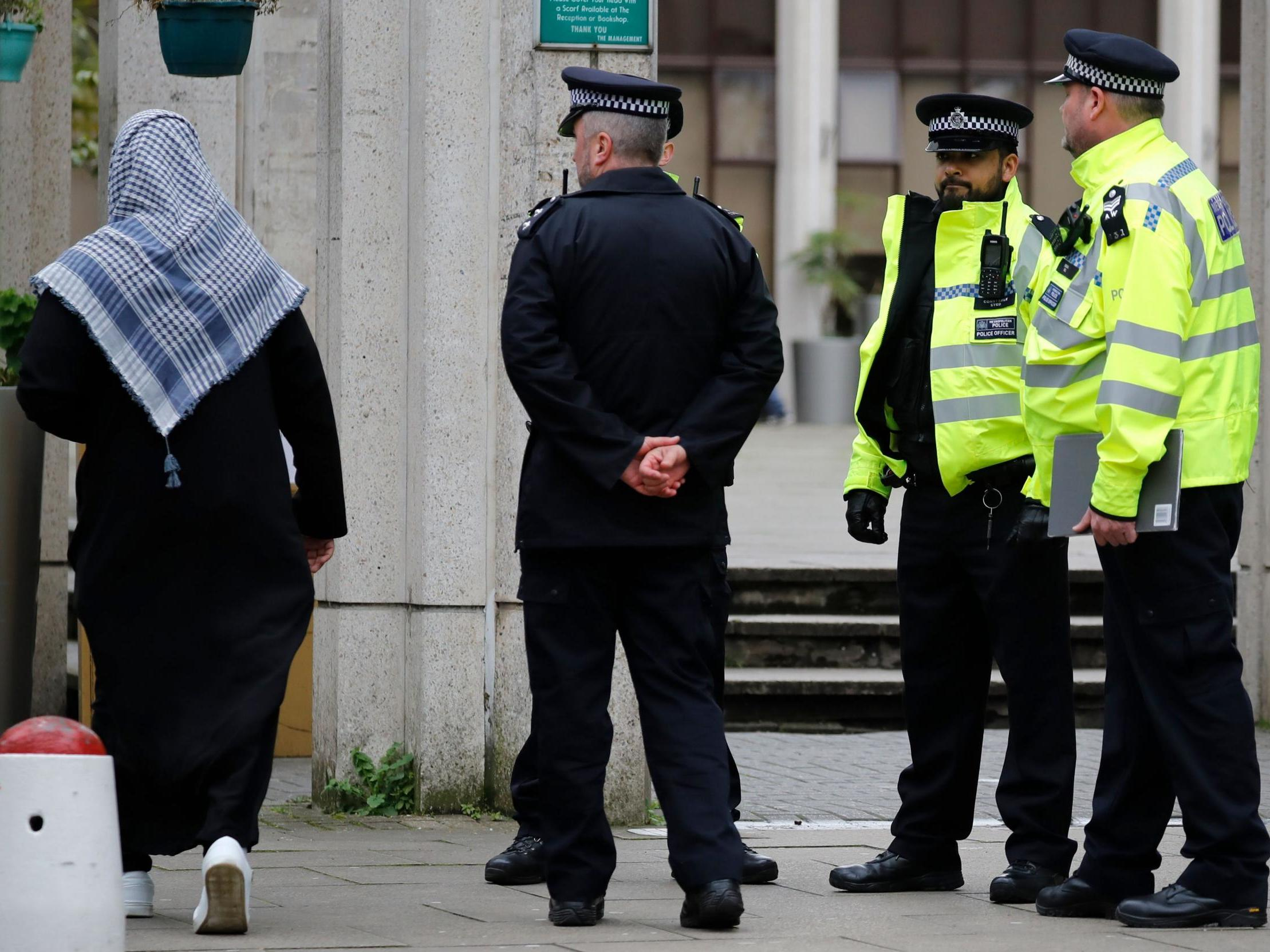 Man charged over London mosque stabbing