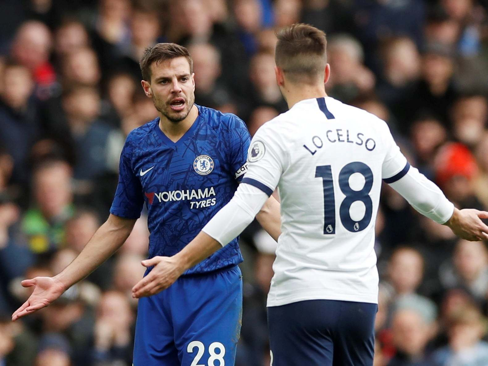 Frank Lampard's derisory verdict after farcical Giovani Lo Celso call