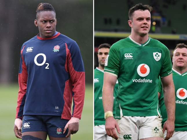 England and Ireland united behind their talismanic second rows