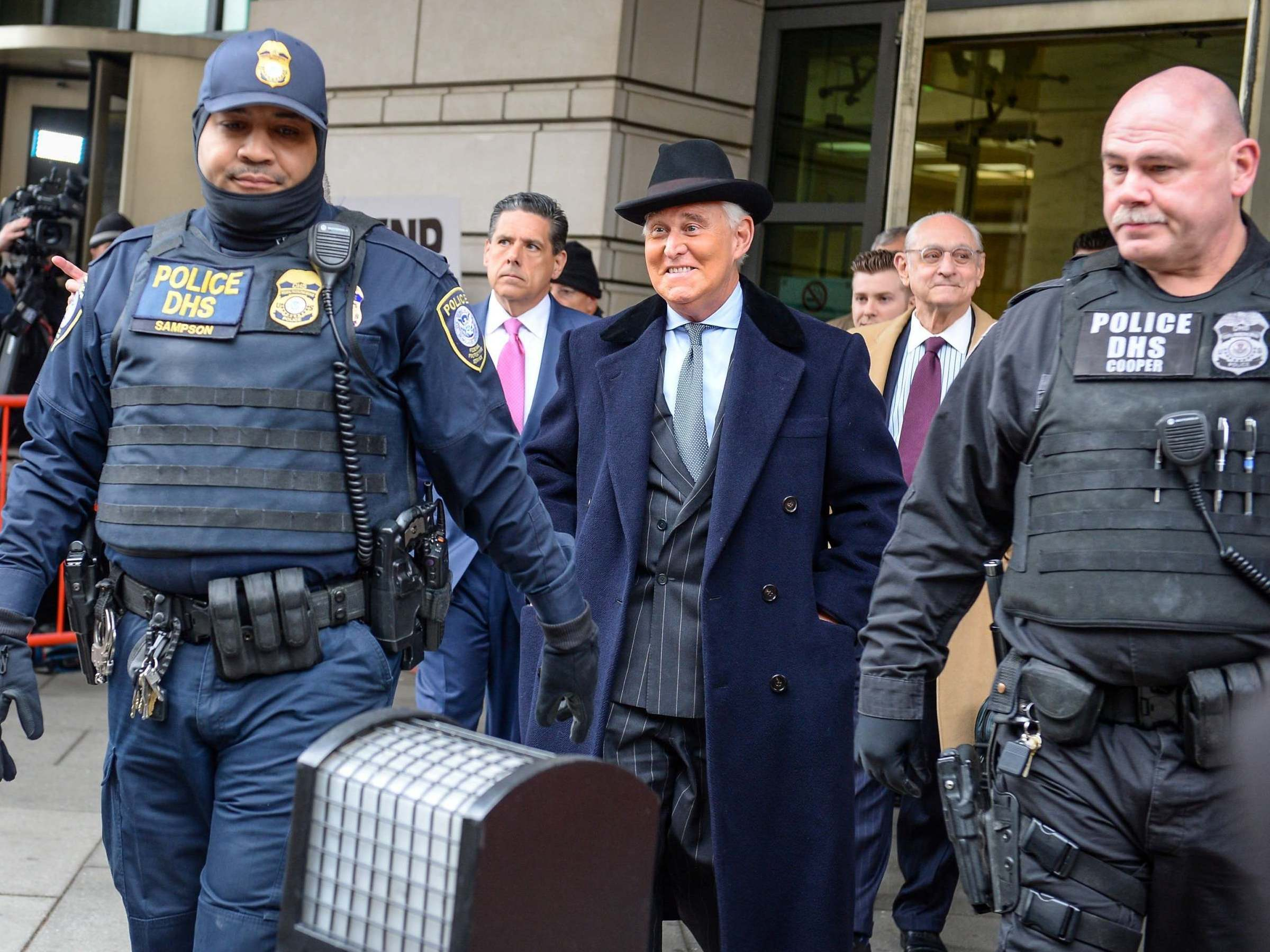 Trump friend and political adviser Roger Stone to report to federal prison on 30 June