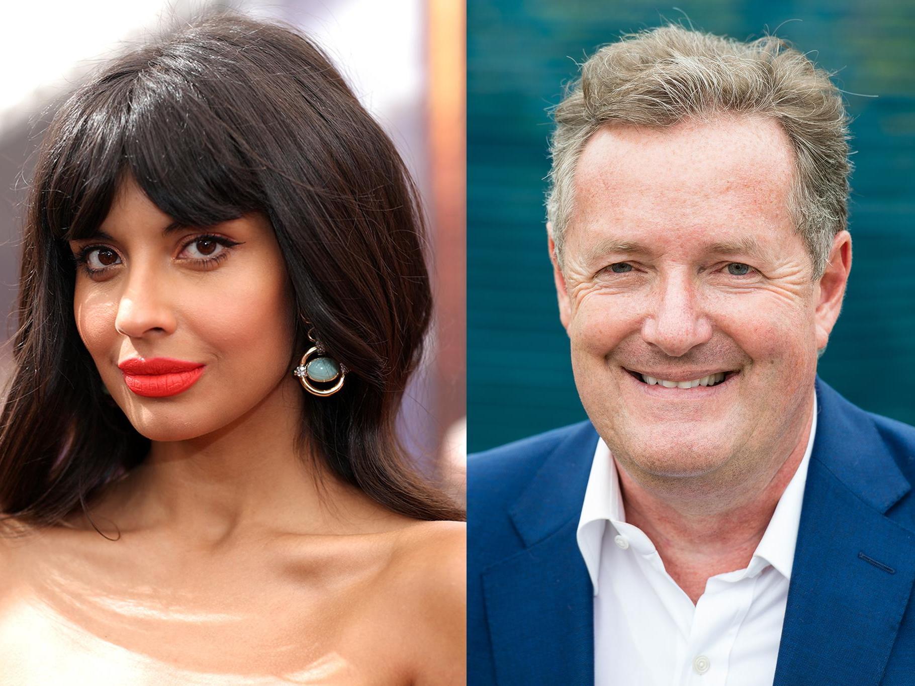 Jameela Jamil calls Piers Morgan 'bullying parasite' for sharing private Caroline Flack messages