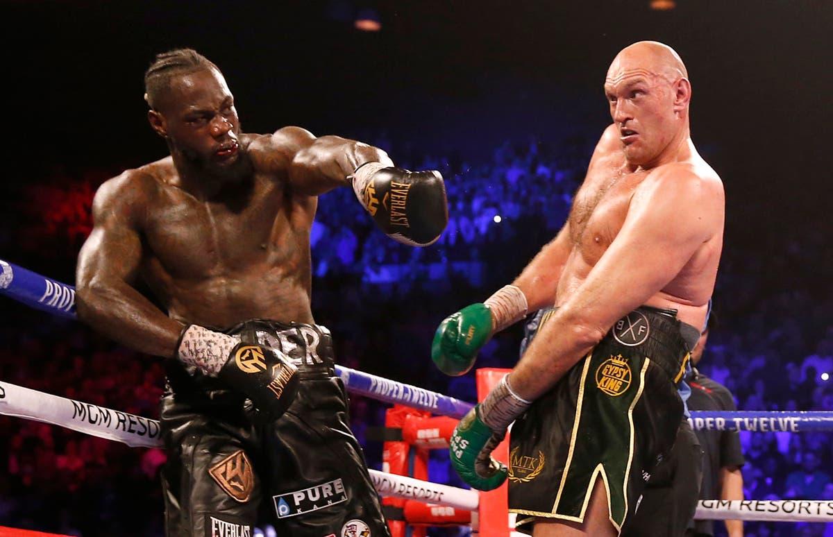 Anthony Joshua backs Fury to defeat Wilder