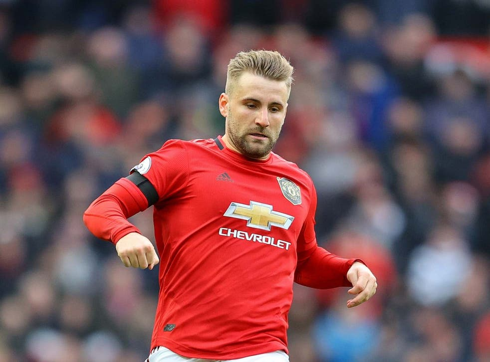 Luke Shaw and United's defence kept Man City's attack from scoring