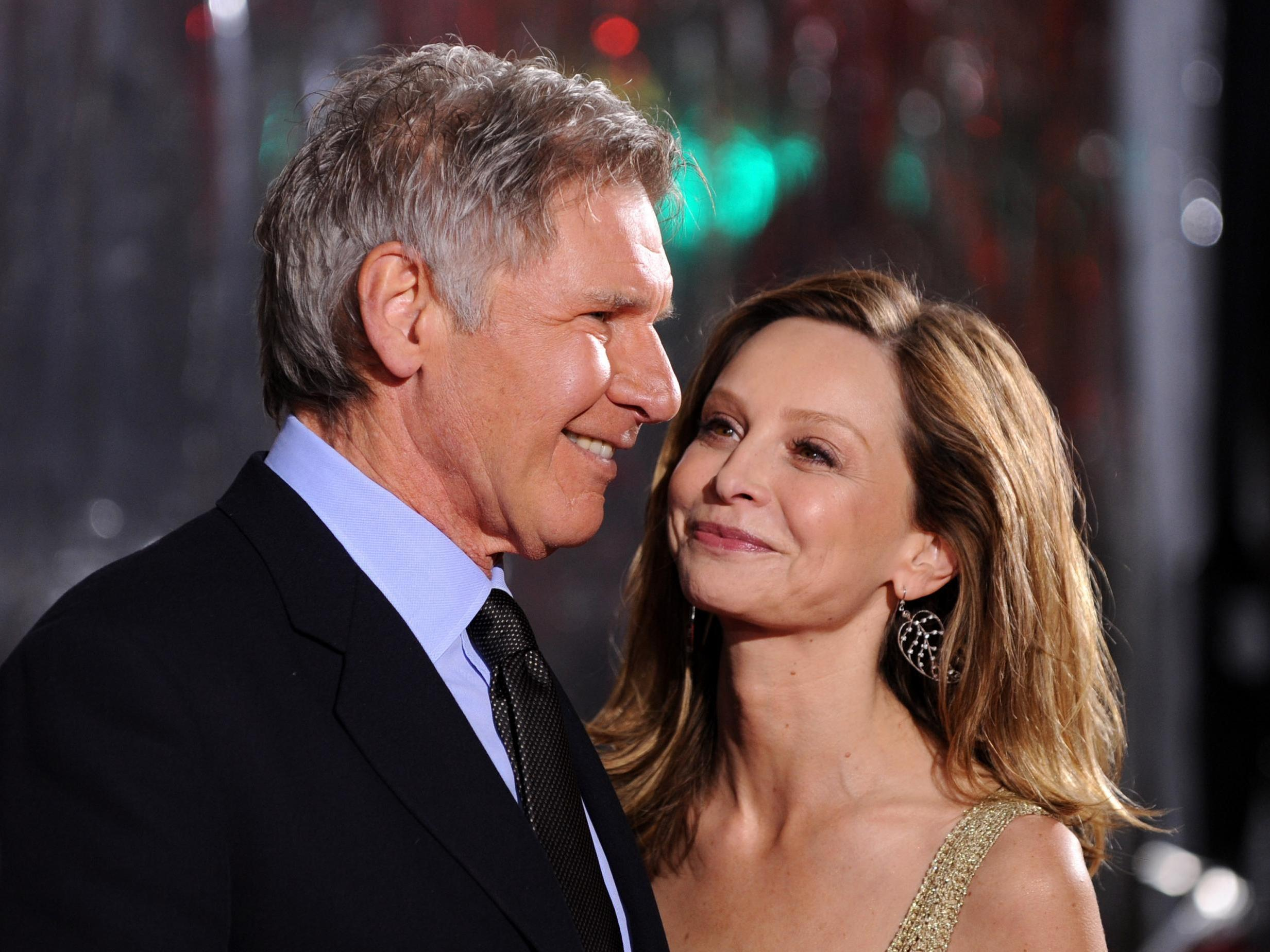 Harrison Ford shares top tip for successful marriage to Calista Flockhart