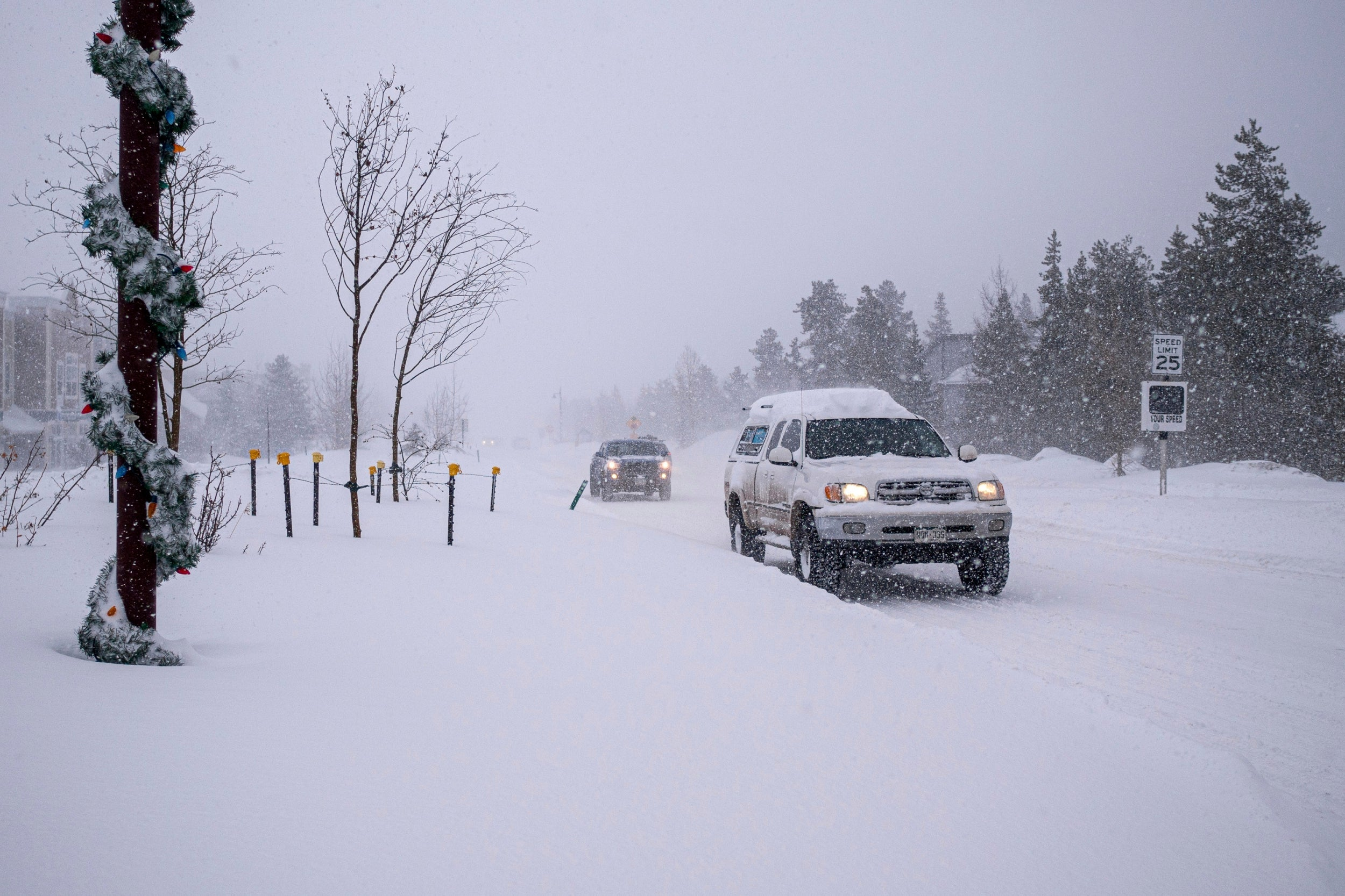 At least seven snow squall warnings for Colorado issued as temperatures set to fall below freezing