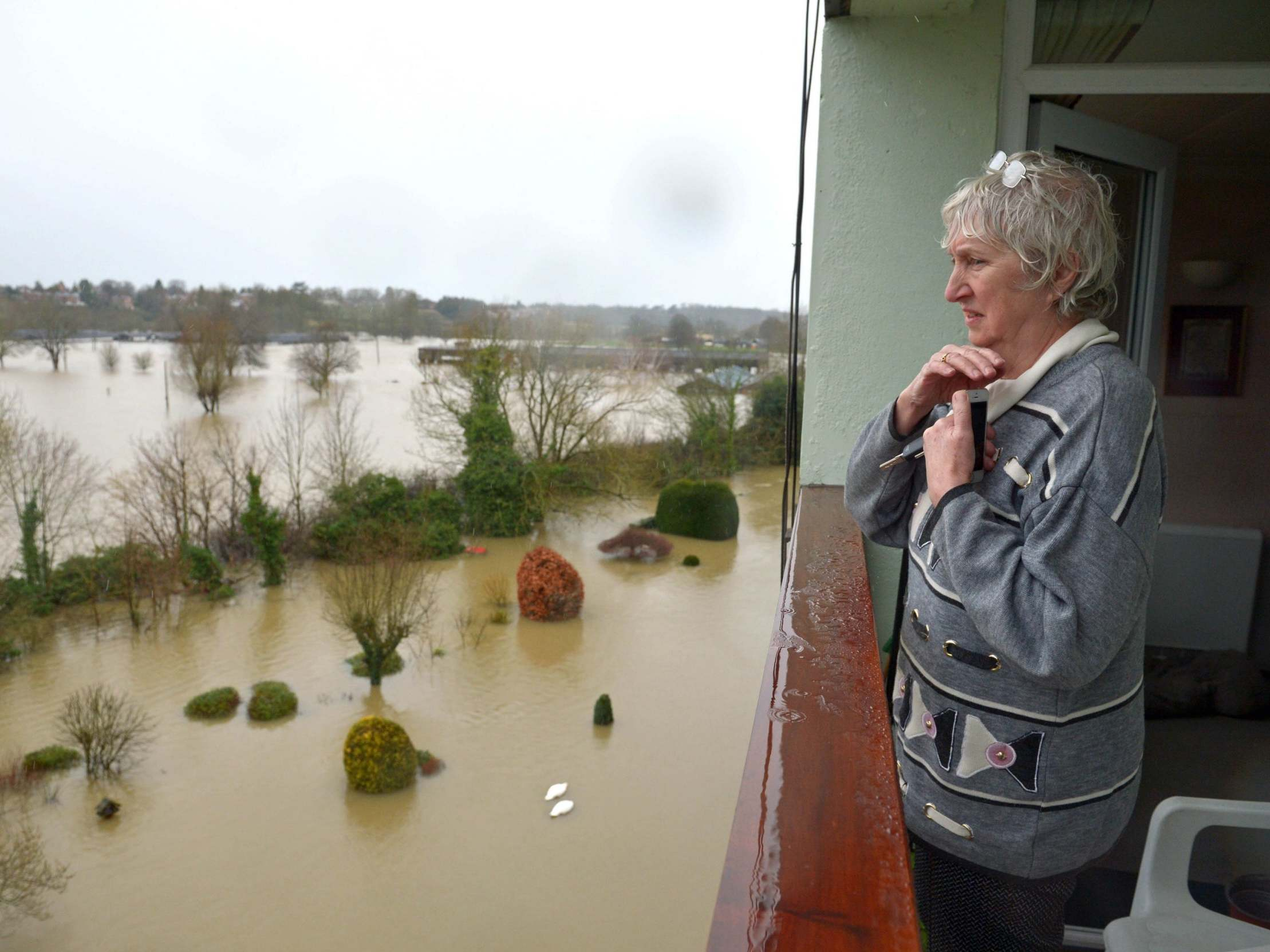 'Lives at risk' as River Severn set to rise to highest level in 20 years