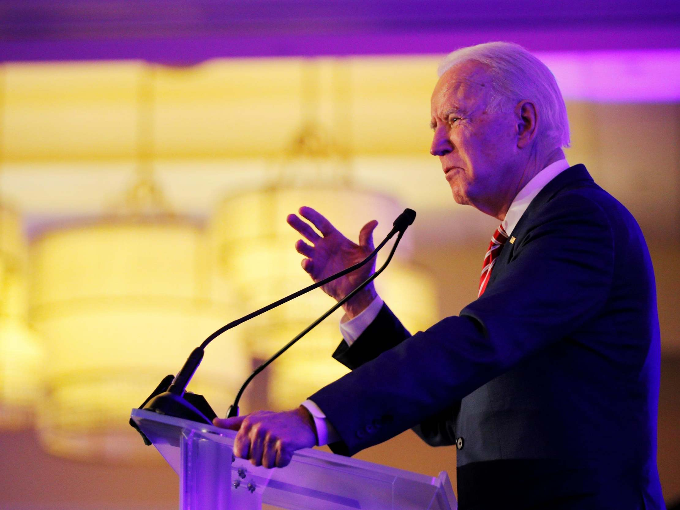 Joe Biden tells crowd he's a 'candidate for the United States Senate' in confused campaign speech