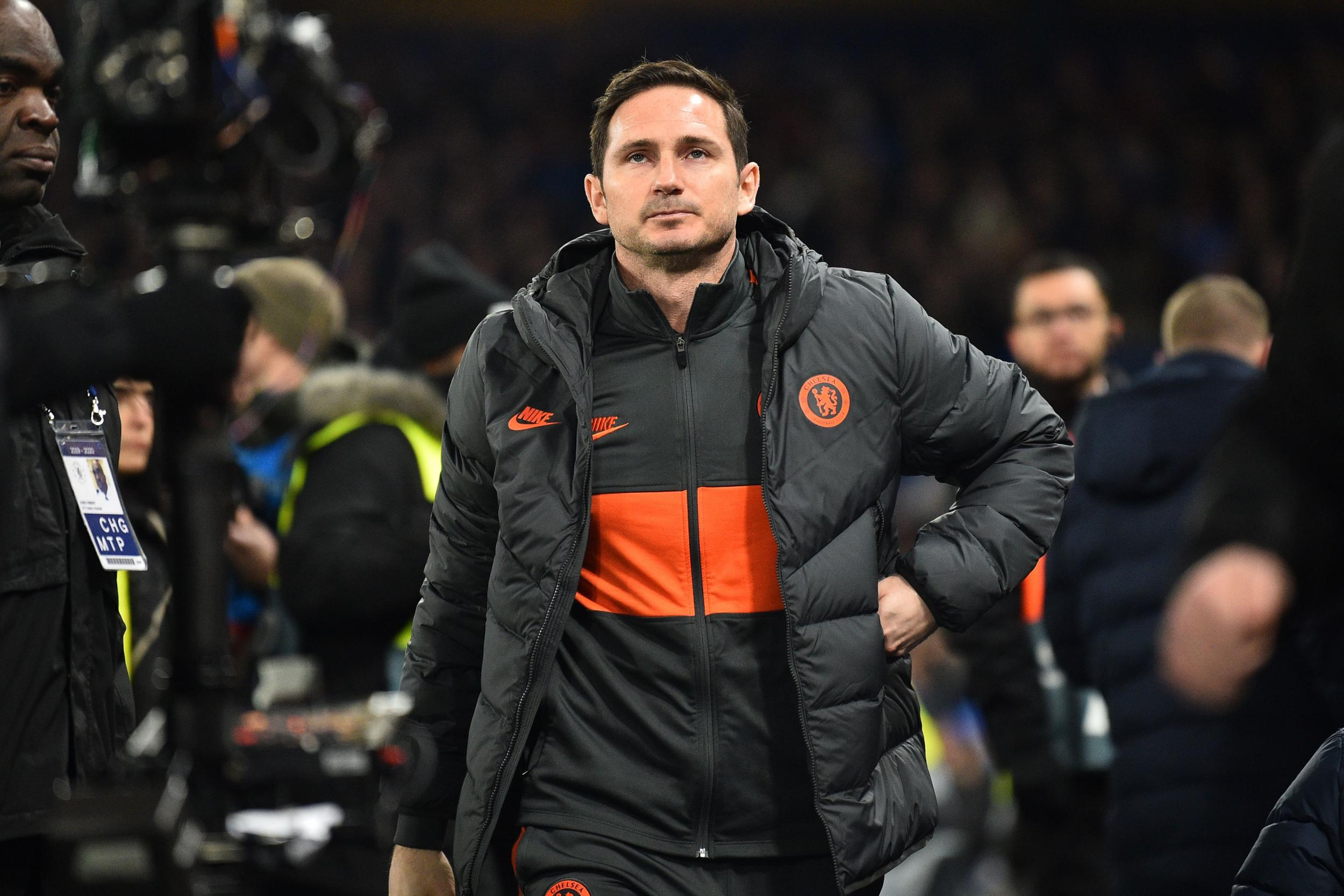 Lampard urges Chelsea to aim for Bayern levels after 'reality check'