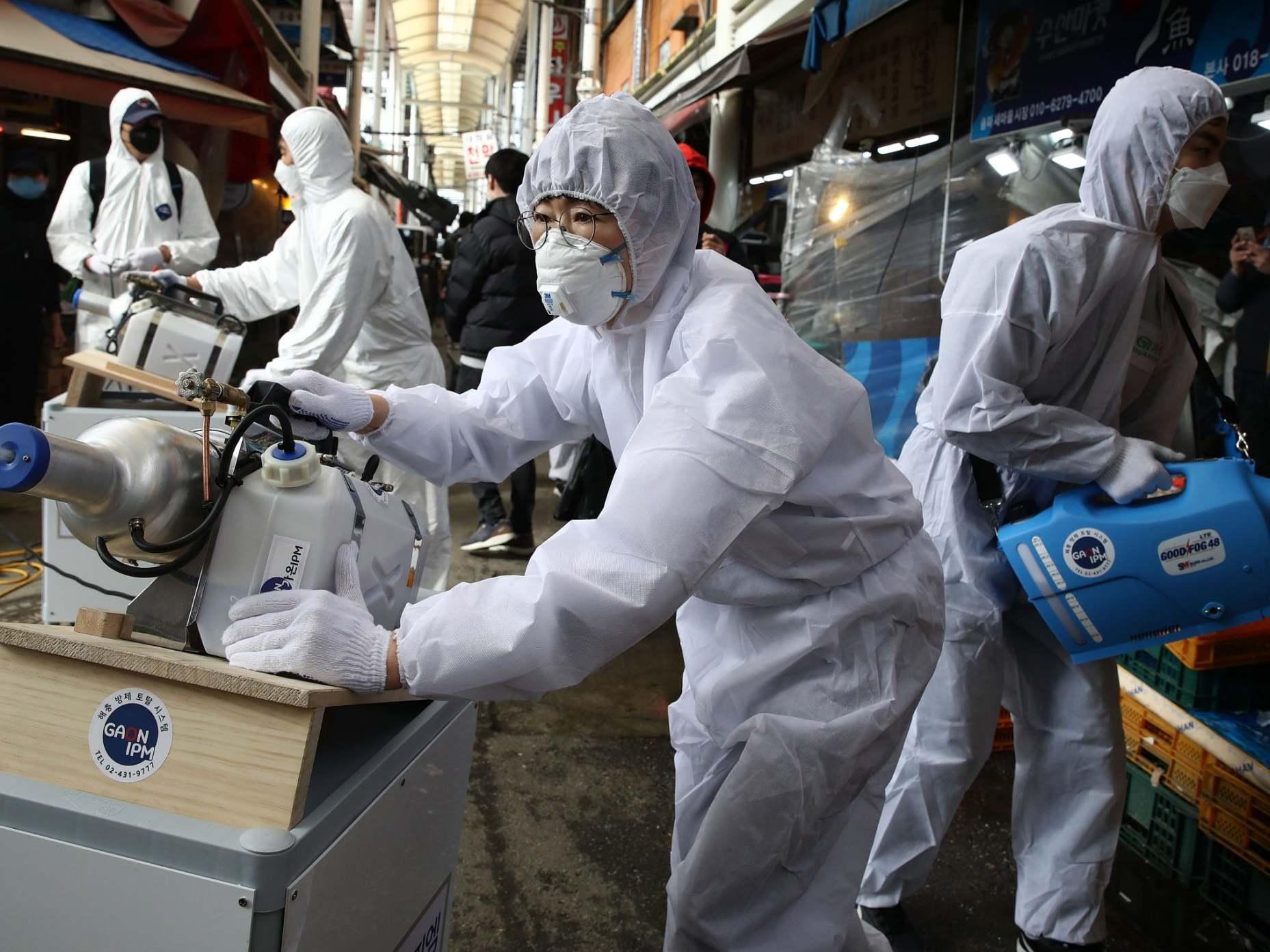 Coronavirus outbreak sweeps across Europe as US fears pandemic - follow live